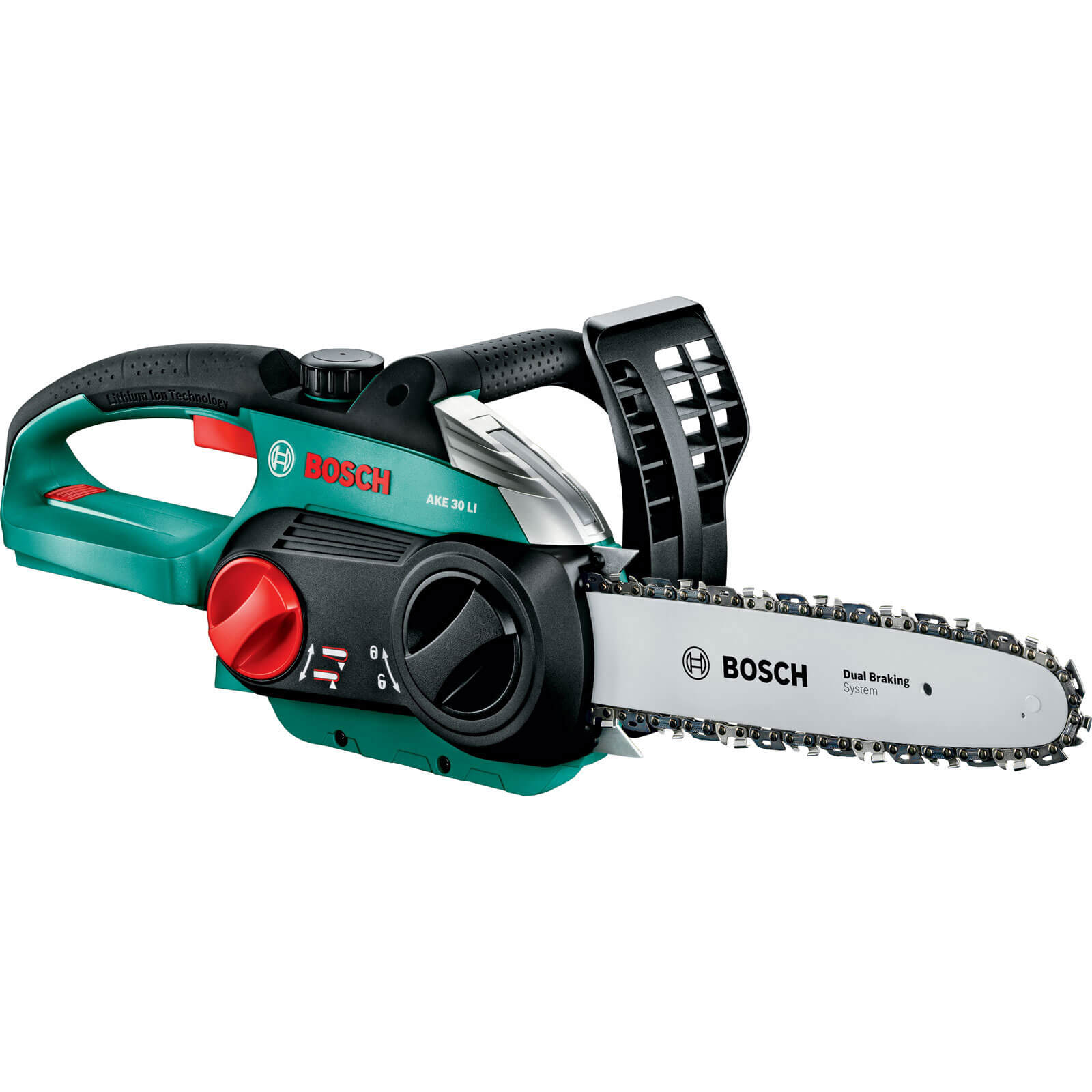 Bosch AKE 30 LI 36v Cordless Chain Saw 300mm Bar Length without Battery or Charger