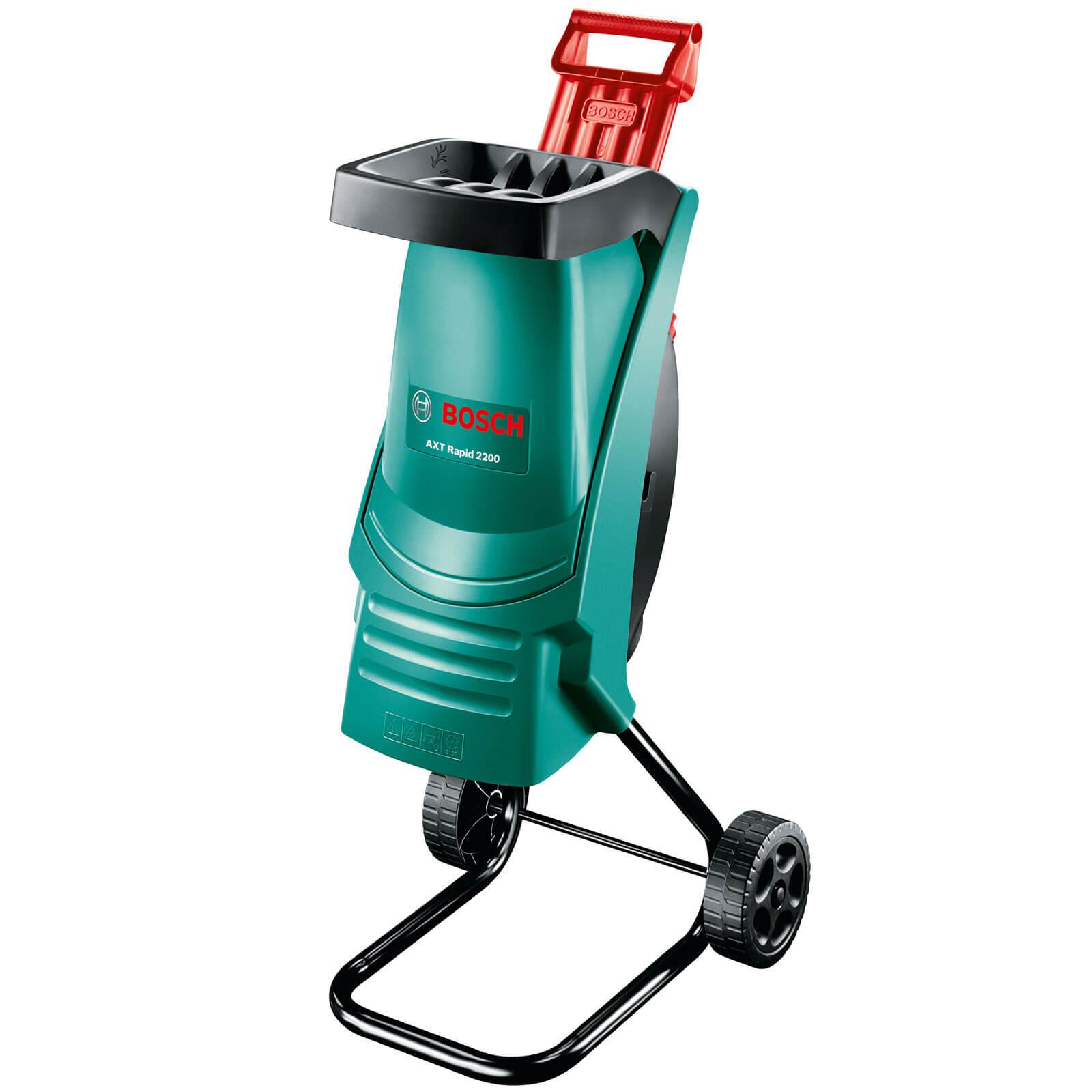 Bosch AXT RAPID 2200 Garden Shredder Max 40mm Capacity 2200w 240v Plus FREE Spare Blade