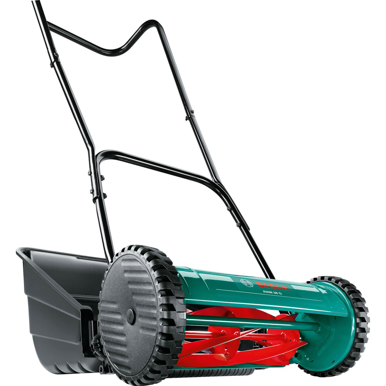Bosch AHM 38G Push Hand Lawn Mower 380mm Cut Width