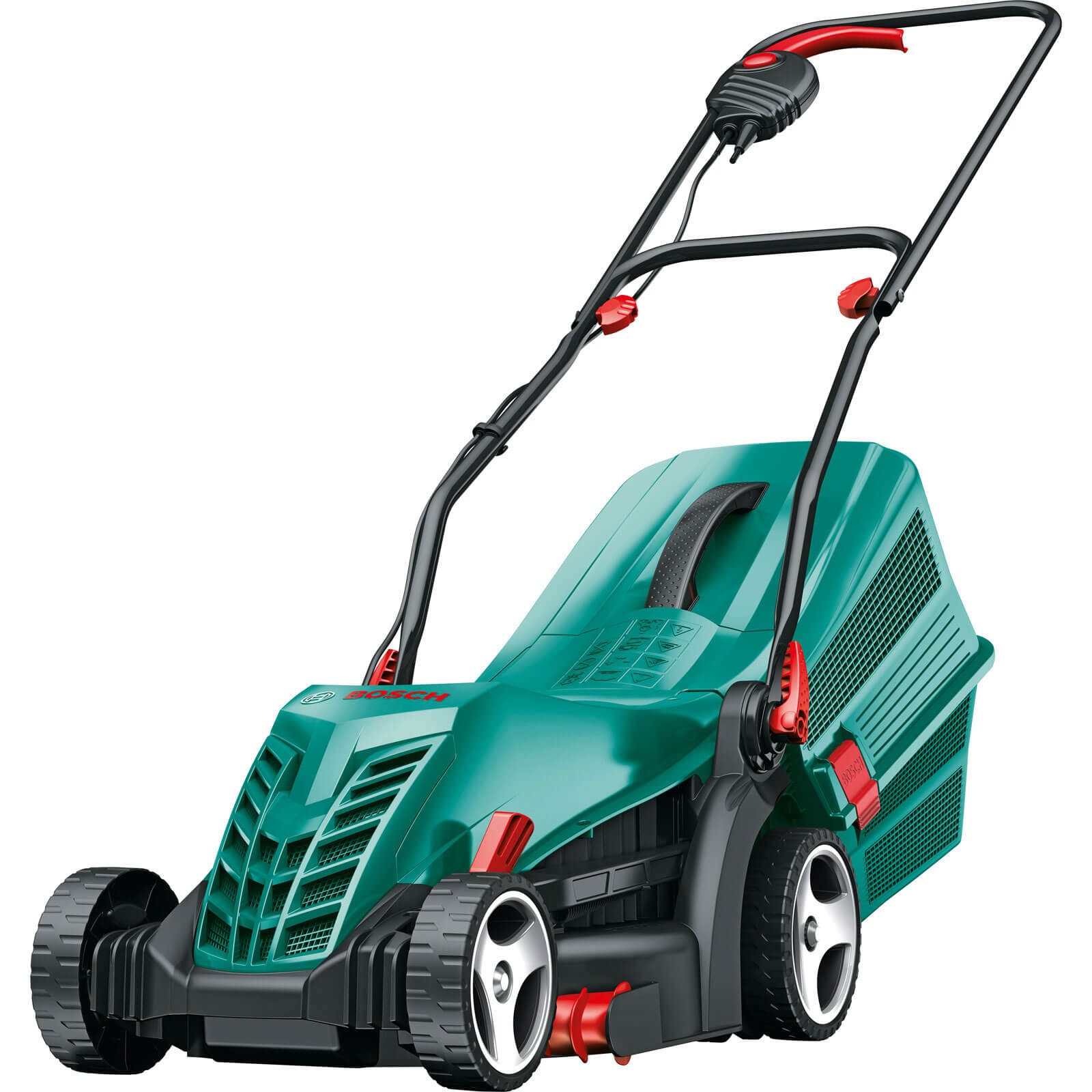 Bosch ROTAK 34 R Electric Rotary Lawnmower 340mm Cut Width 1300w 240v
