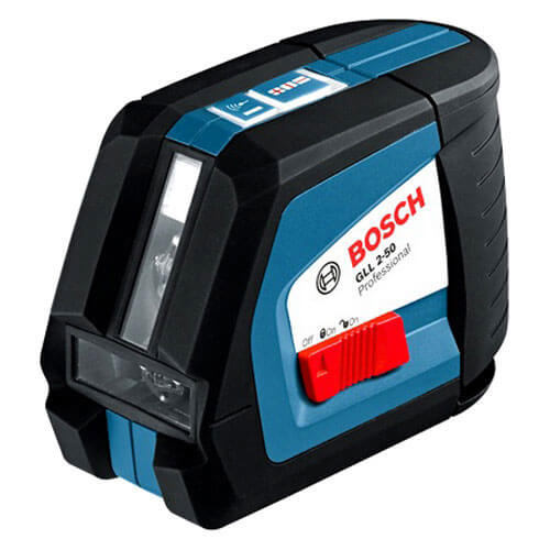 Bosch GLL 2-50 Cross Line Laser Level + BM1 Wall Mount