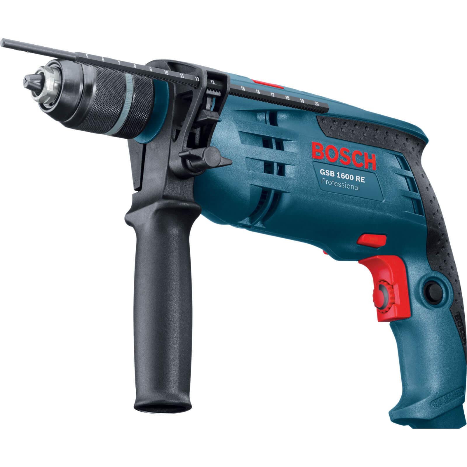 Bosch GSB 1600RE Hammer Drill 700w 110v