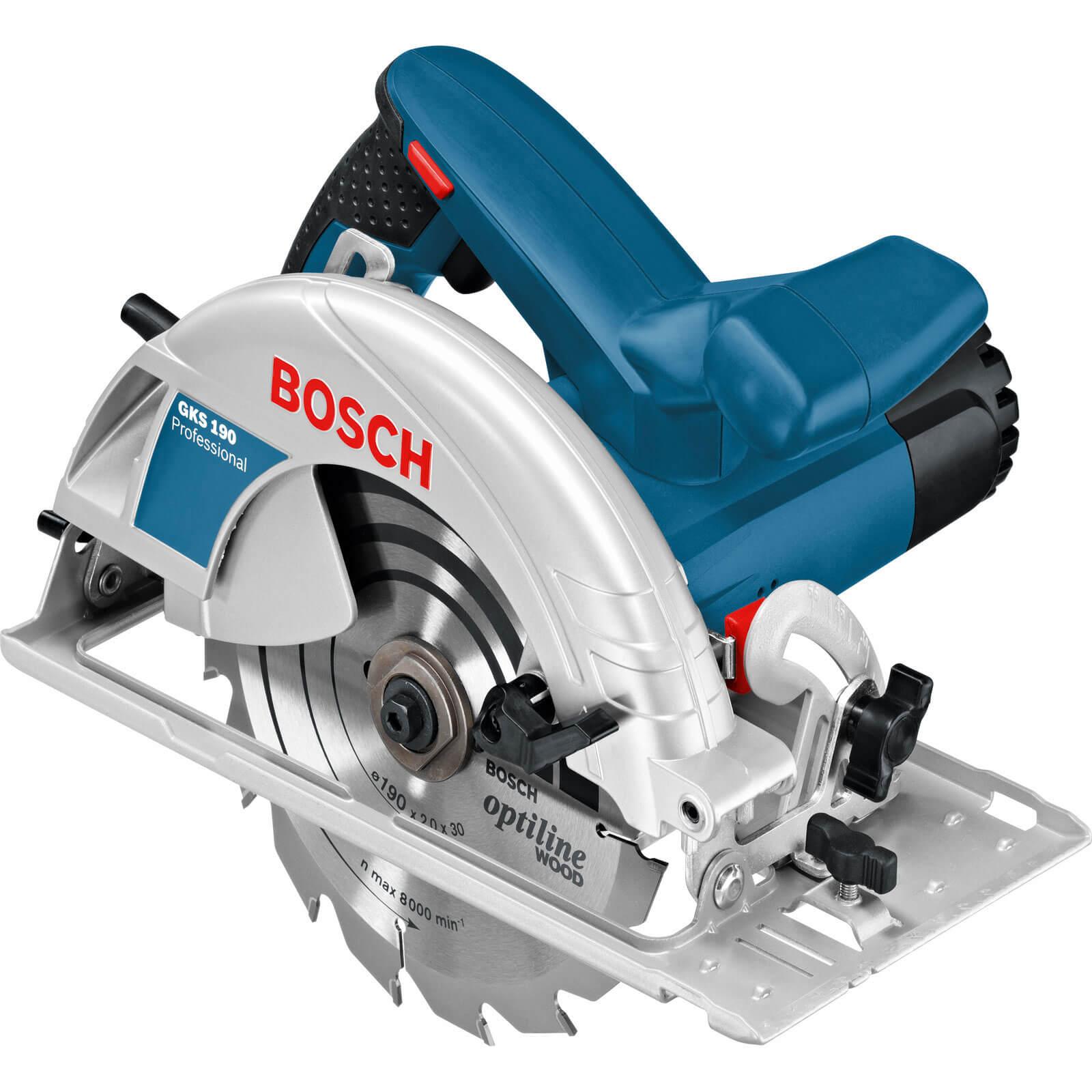 Bosch GKS 190 Circular Saw 190mm Blade 1400w 240v
