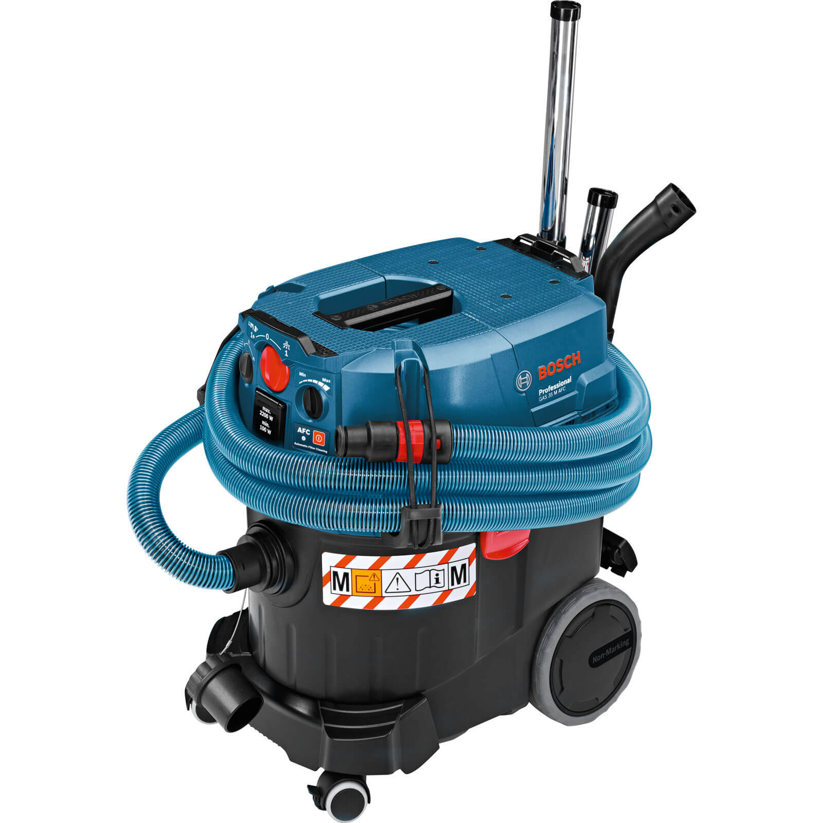 Bosch GAS 35 M AFC Wet & Dry Vacuum Cleaner & Dust Extractor 35L Tank 1200w 240v