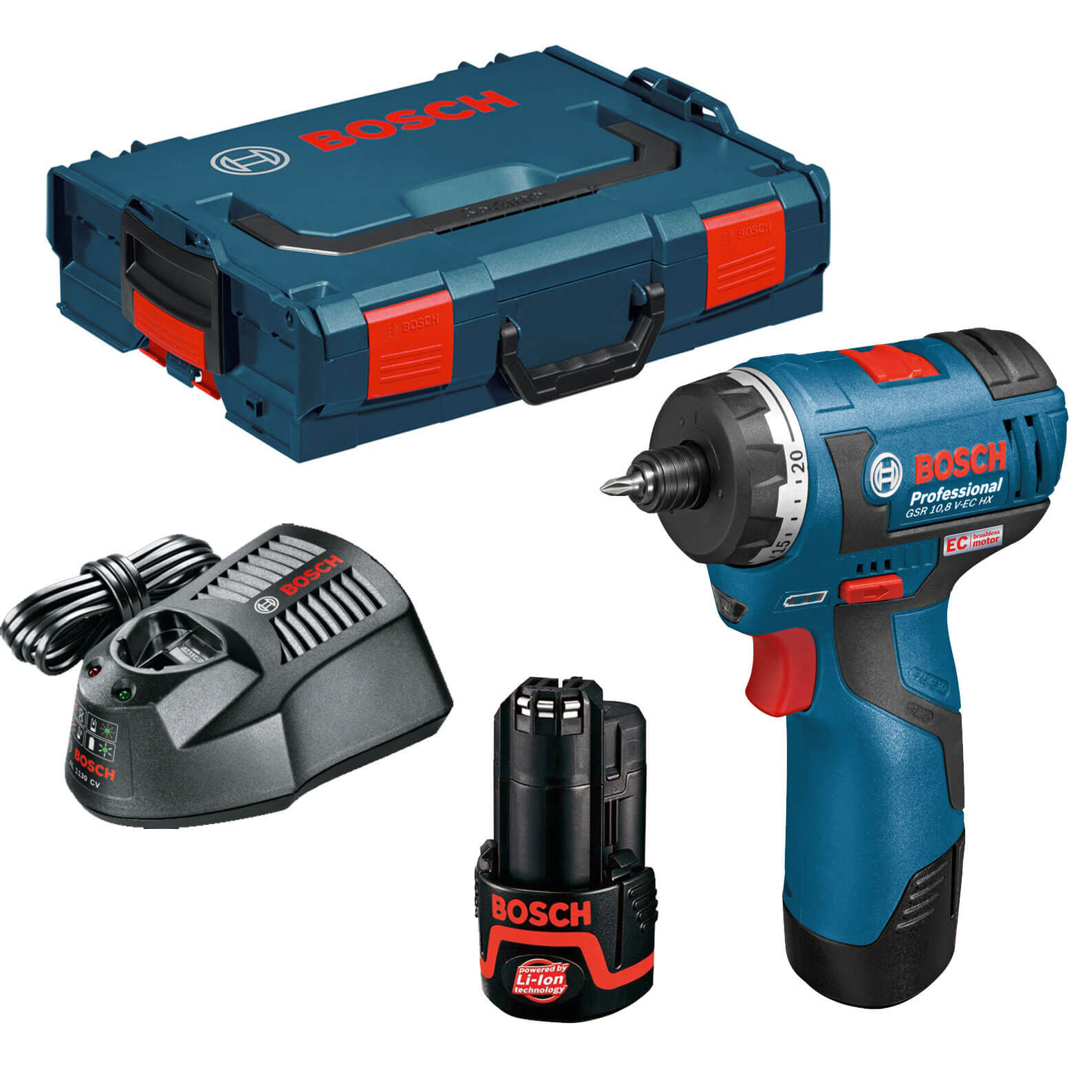 bosch gsr 10 8 v ec hx cordless brushless drill. Black Bedroom Furniture Sets. Home Design Ideas