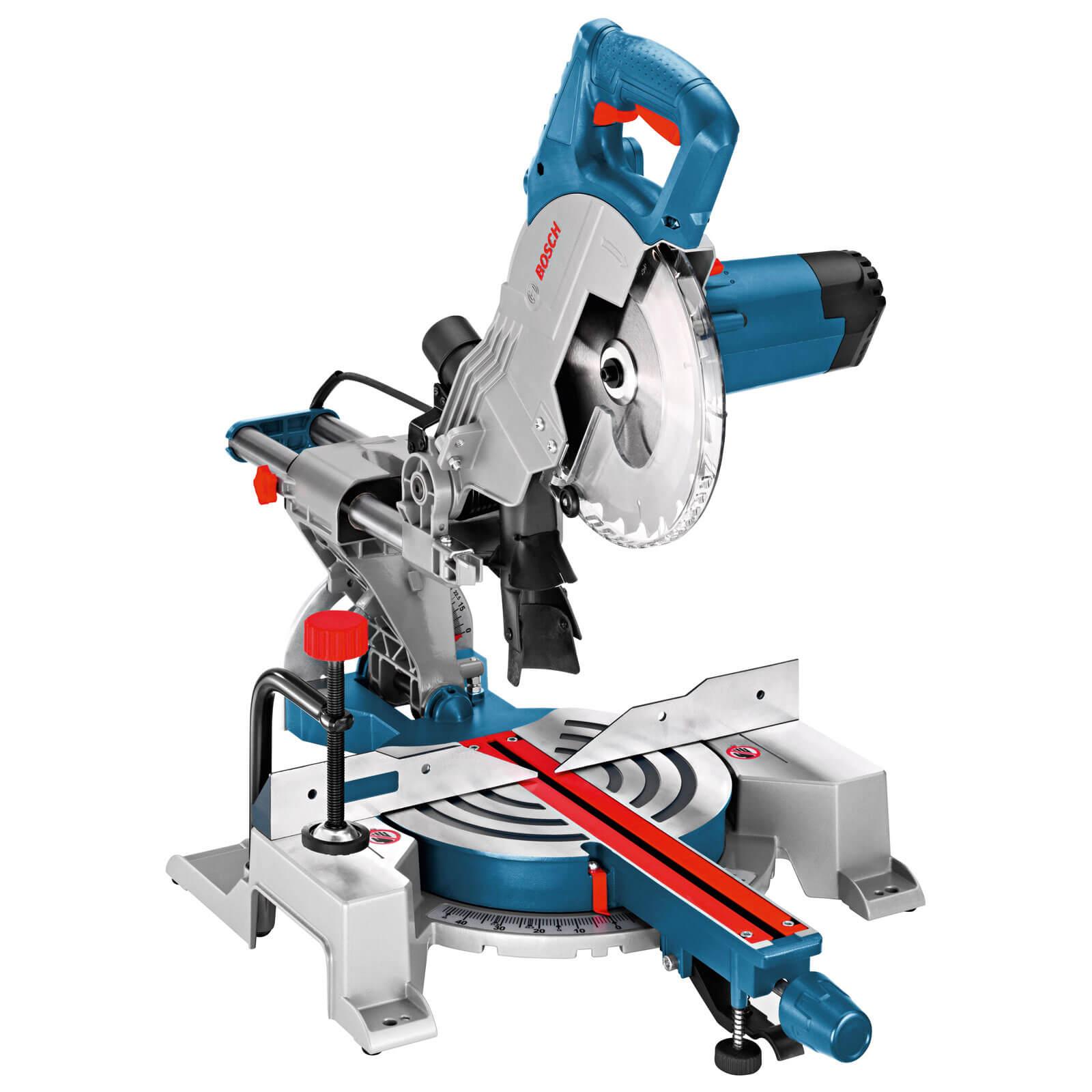 Bosch GCM 800 SJ Sliding Mitre Saw 216mm Blade 1600w 110v