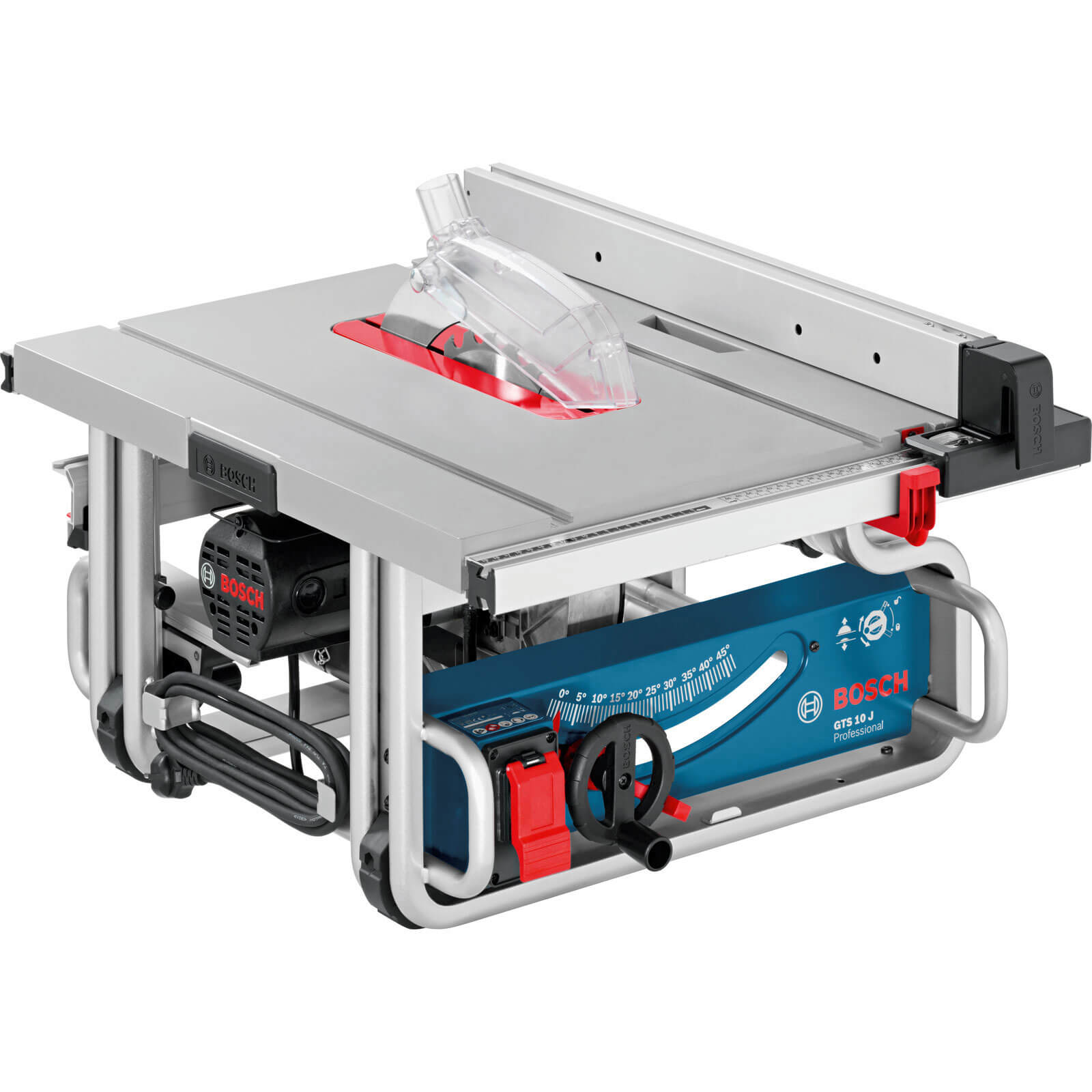 Bosch GTS 10 J Table Saw 10 / 254mm Blade 1800w 240v