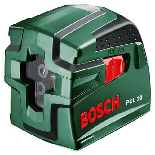 Bosch PCL 10 Self Levelling Cross Line Laser Level