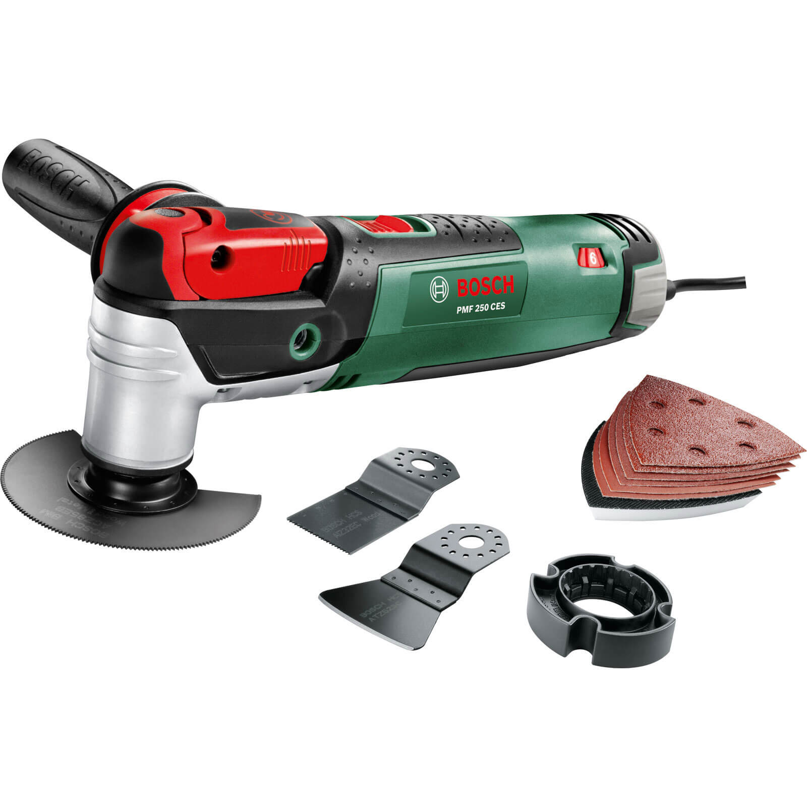 Bosch PMF 250 CES All Rounder 3 In 1 Multi Tool