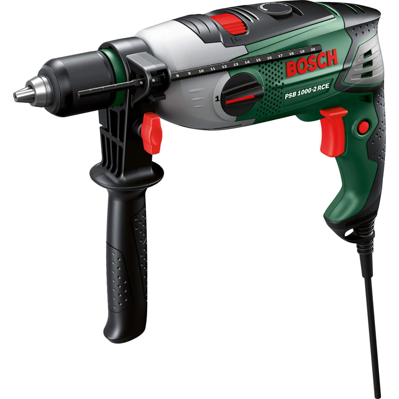 Bosch PSB 1000-2 RCE Compact Electric Hammer Drill 1000w 240v