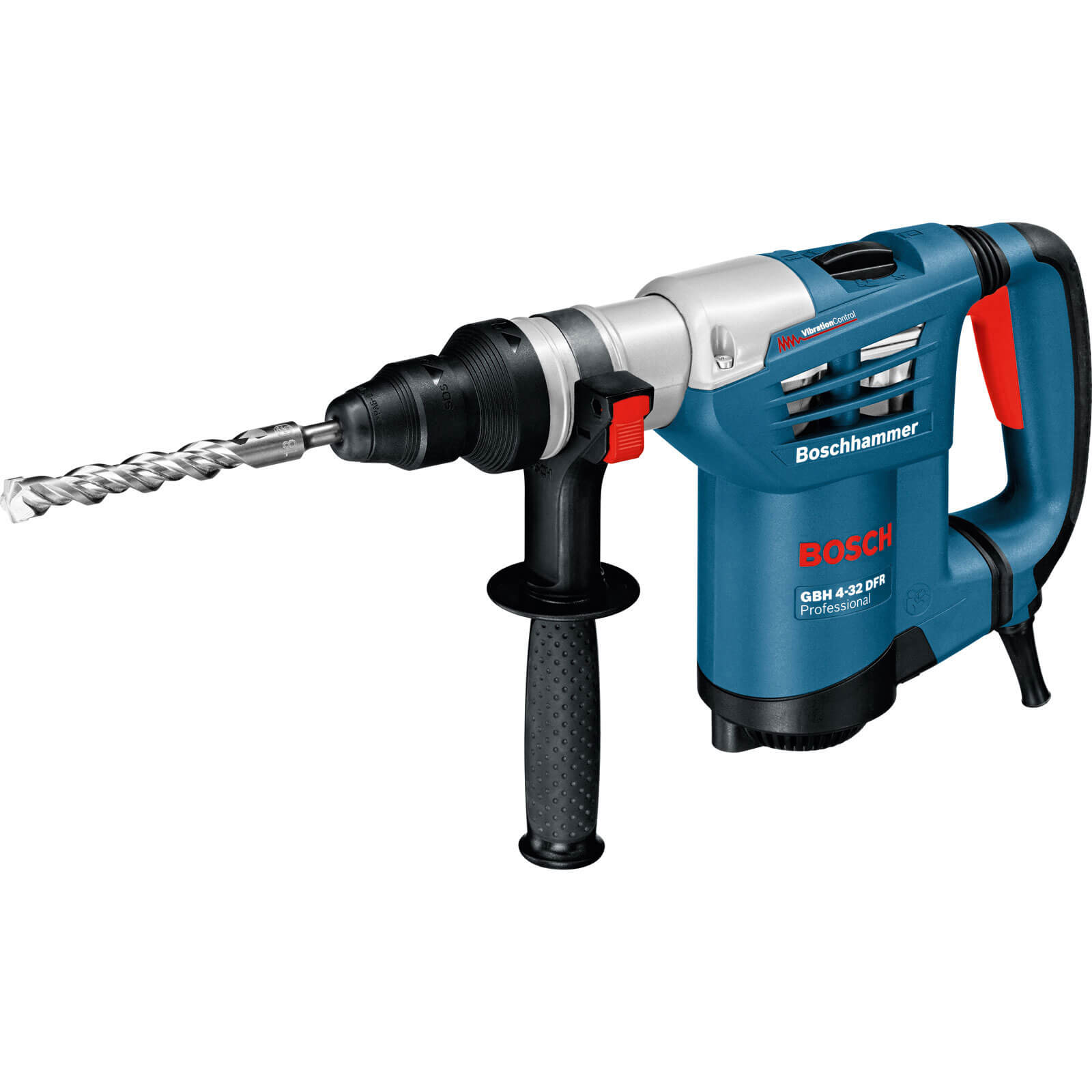 Bosch GBH 4-32 DFR 4Kg SDS Plus Rotary Hammer Drill + Quick Change Chuck 900w 240v