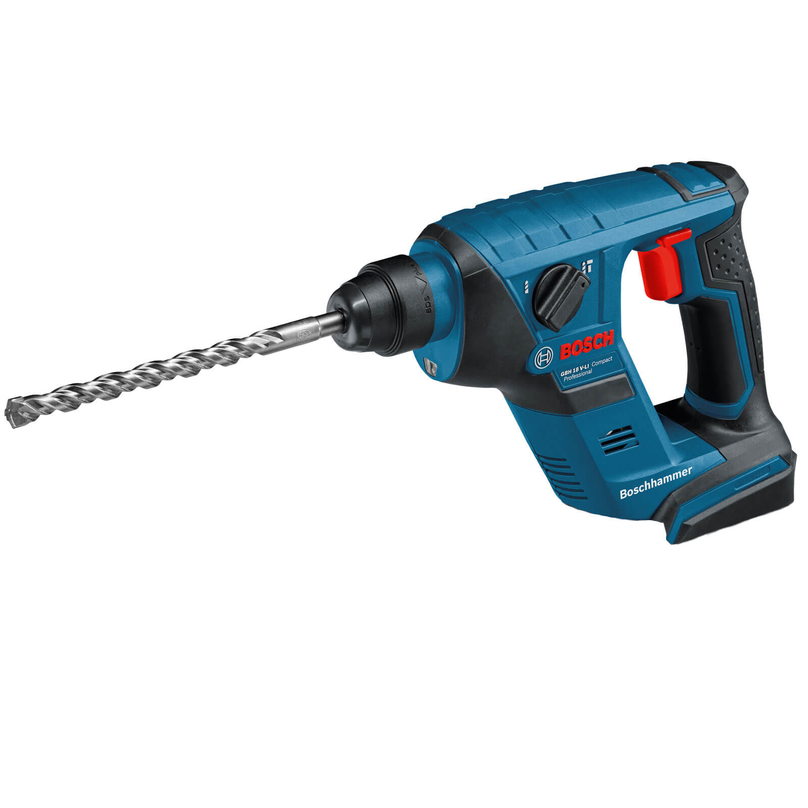 Bosch GBH 18VLI 18v Cordless Compact SDS Plus Hammer Drill without Battery or Charger