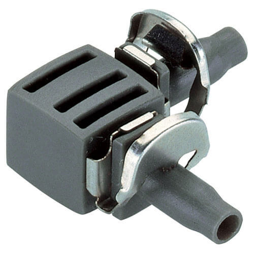 Gardena L Joint 4.6mm (3/16&quot) Pack of 10 (Micro Drip System)