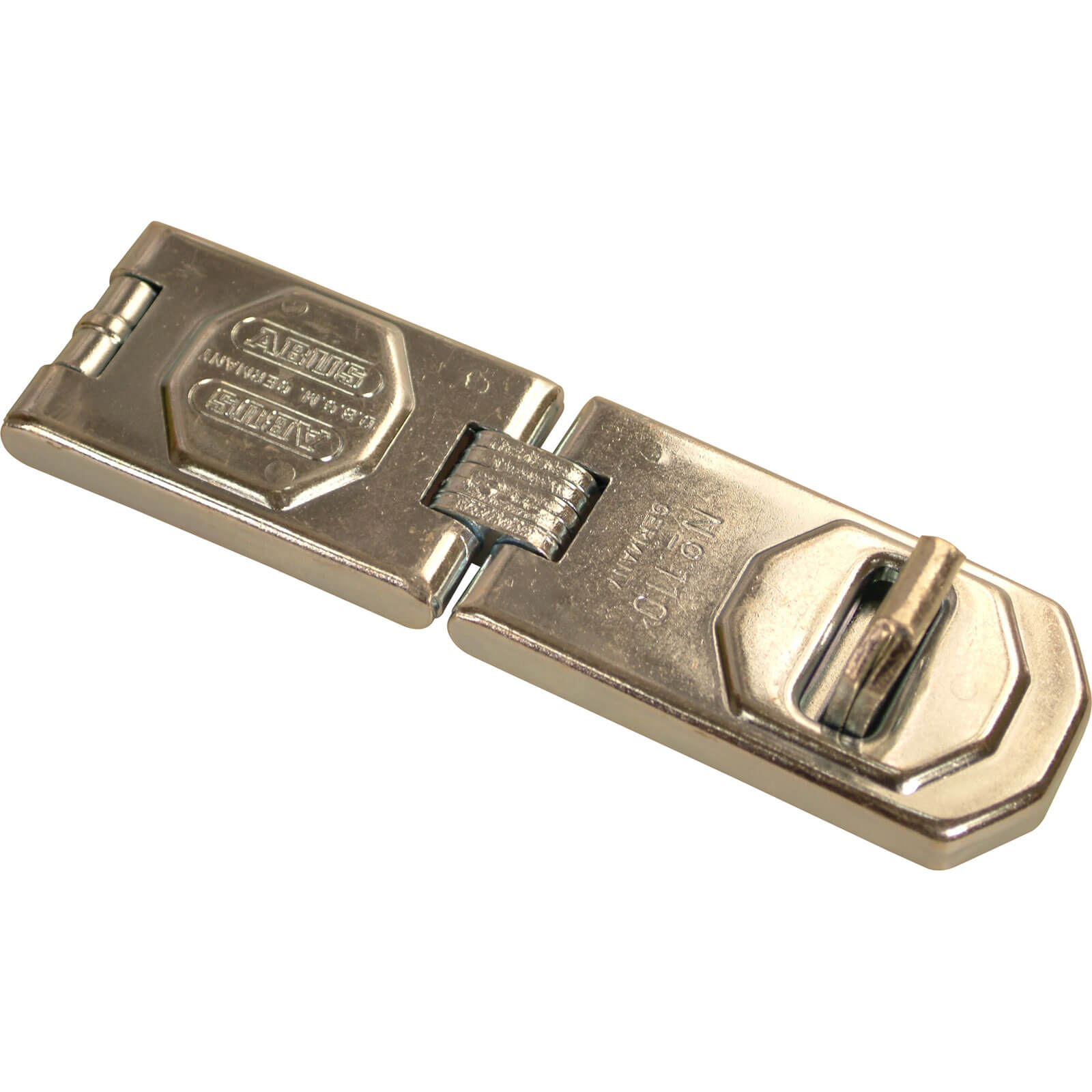 Abus 110 Series Universal Hasp & Staple 115mm Single Jointed