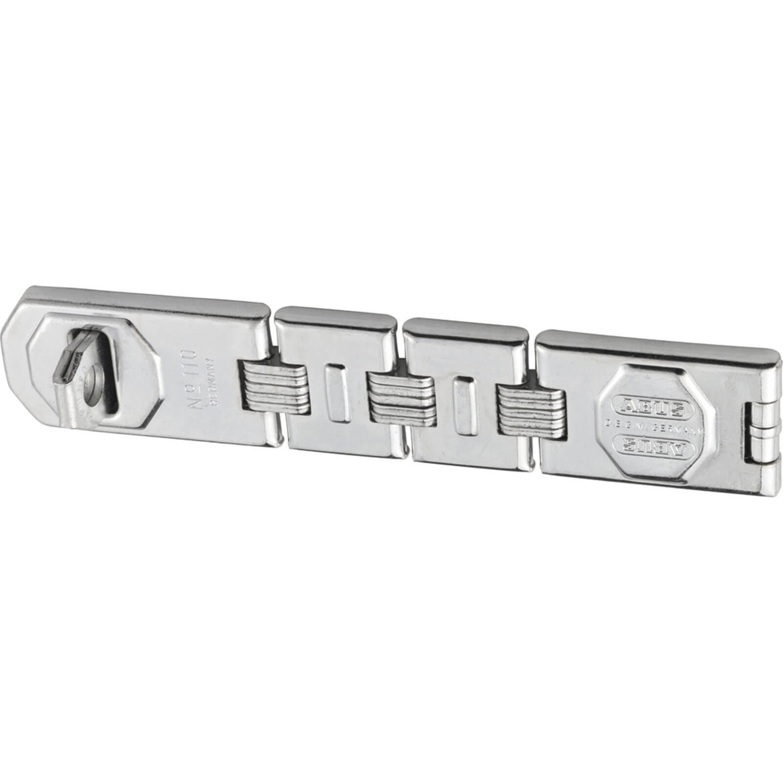 Abus 110 Series Universal Hasp & Staple 230mm Double Jointed