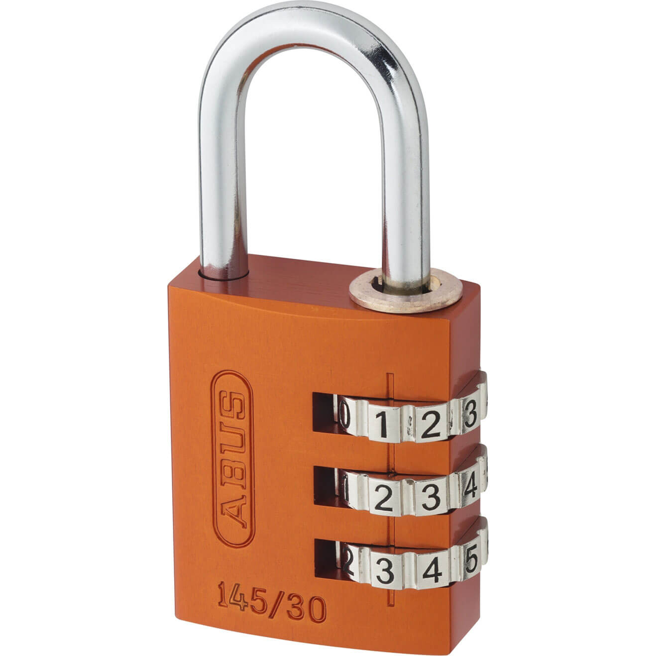 Abus 40mm 145 Series 4 Digit Aluminium Combination Padlock
