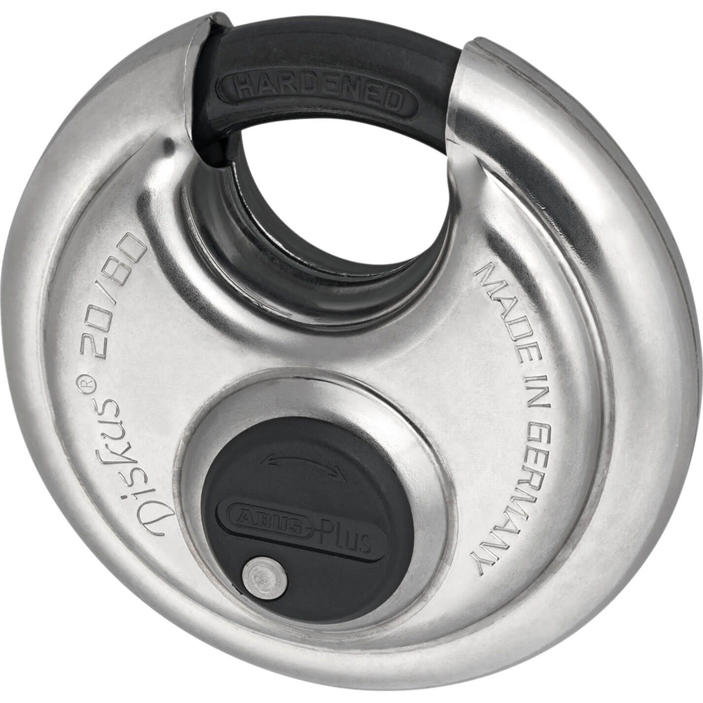 Abus 80mm 20 Series Diskus Stainless Steel Bodied Padlock