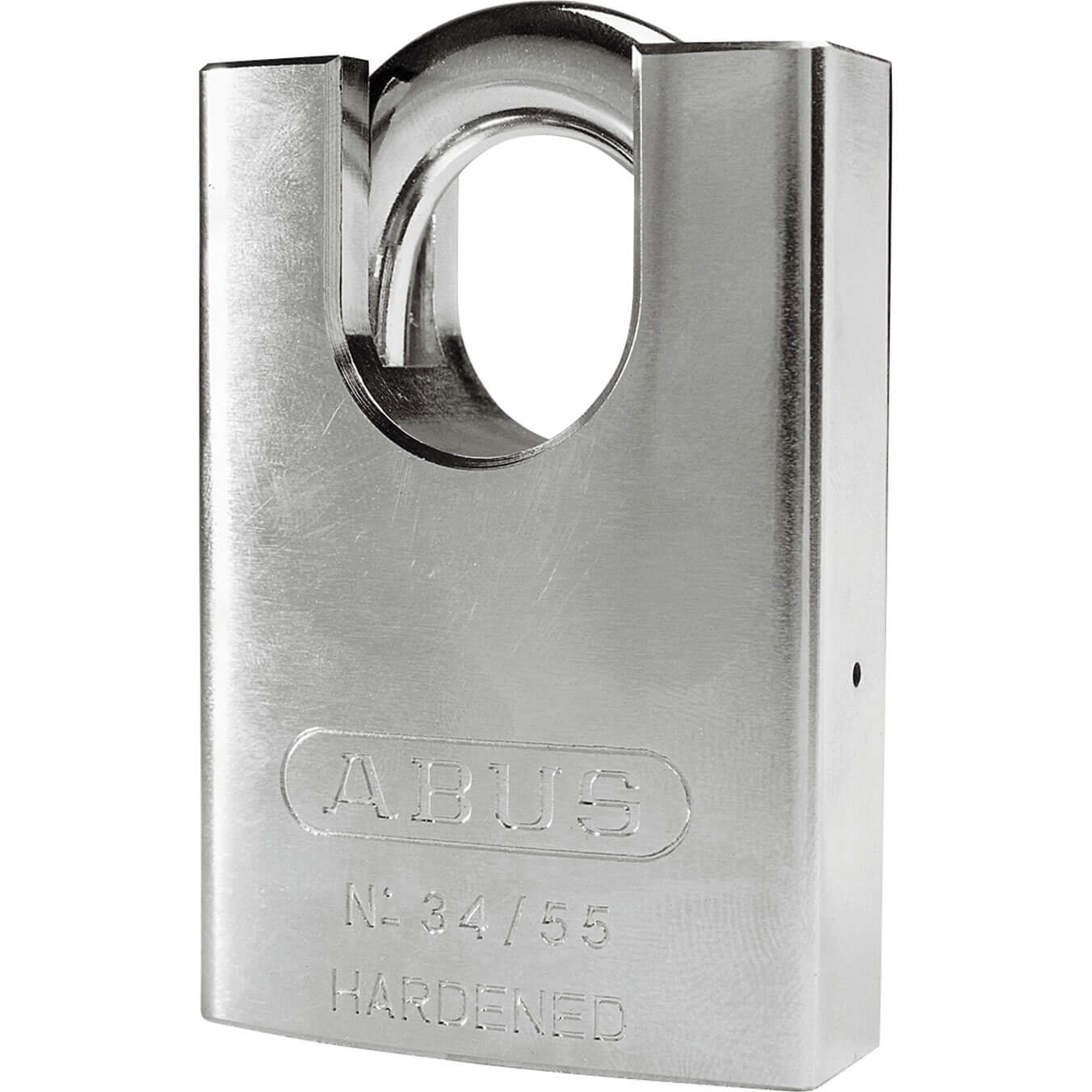 ABUS 55mm 34 Series Hardened Steel Padlock with Closed Shackle