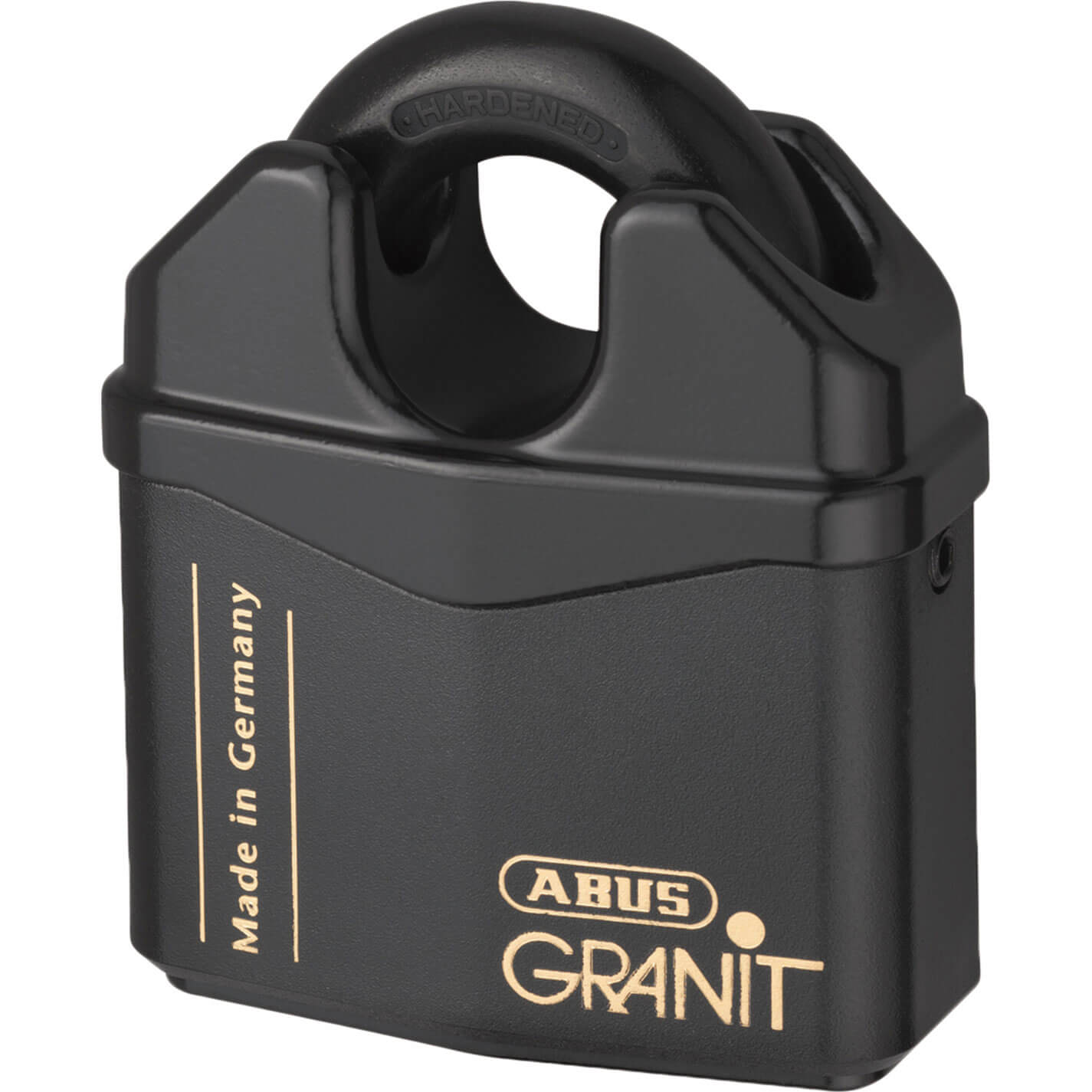 Abus 80mm Close Shackle 37 Series Granit Hardened Steel Padlock Keyed Alike To Suite 4365623