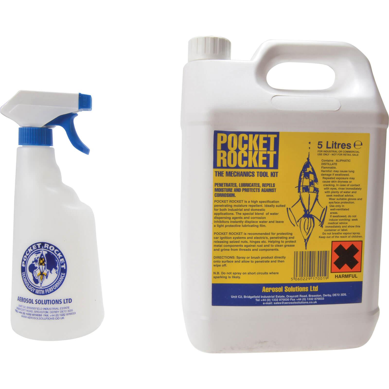 Pocket Rocket Aerosol Lubricant & Moisture Repellent 5L