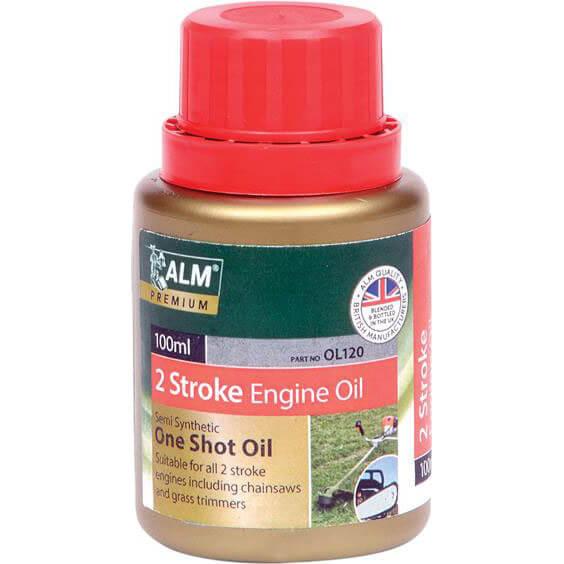 ALM One Shot 2 Stroke Oil 100ml Bottle