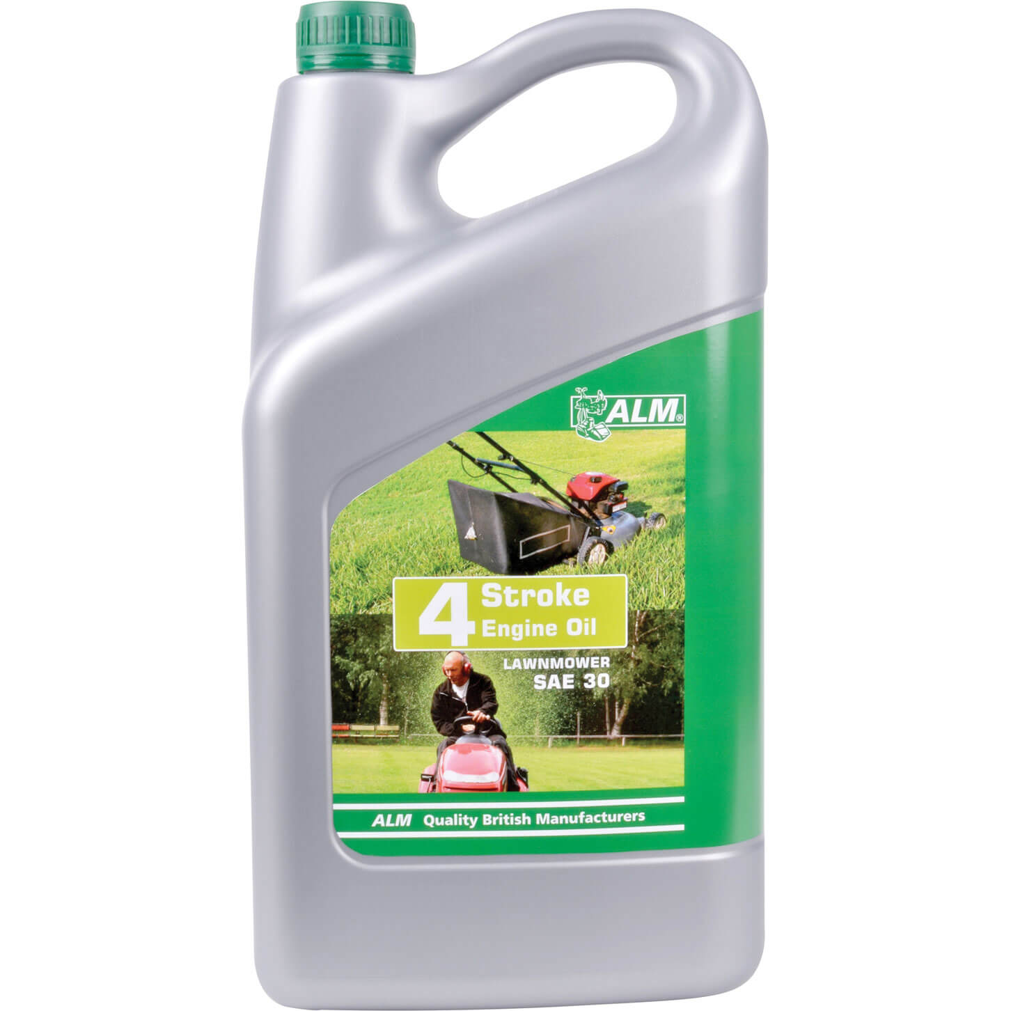 ALM 4 Stroke Lawnmower Oil for Petrol & Diesel Engines 5L
