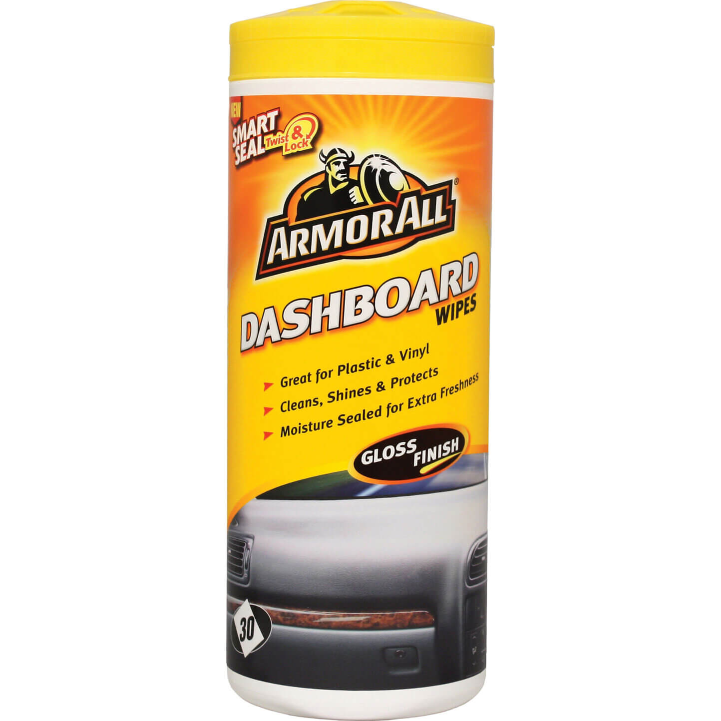 ArmorAll Interior Car Dashboard Wipes Tub of 30