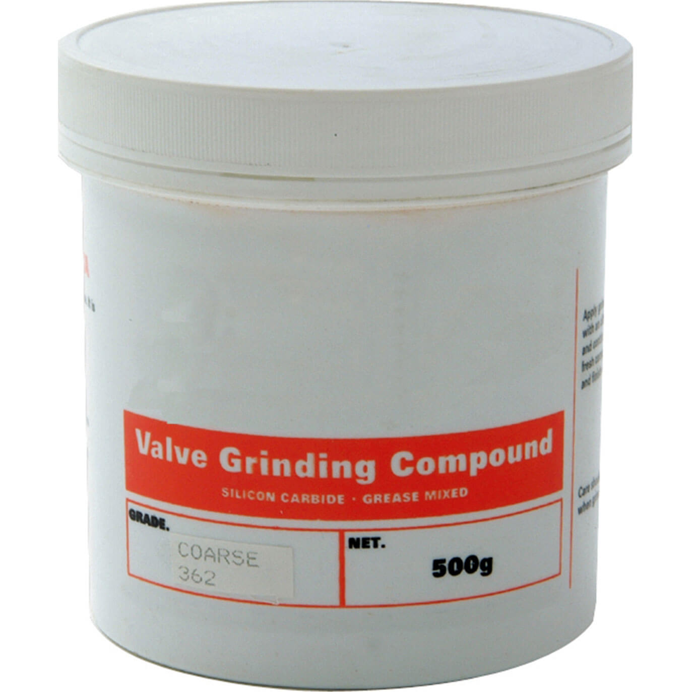 Anglo 362 Valve Grinding Paste Coarse 500G
