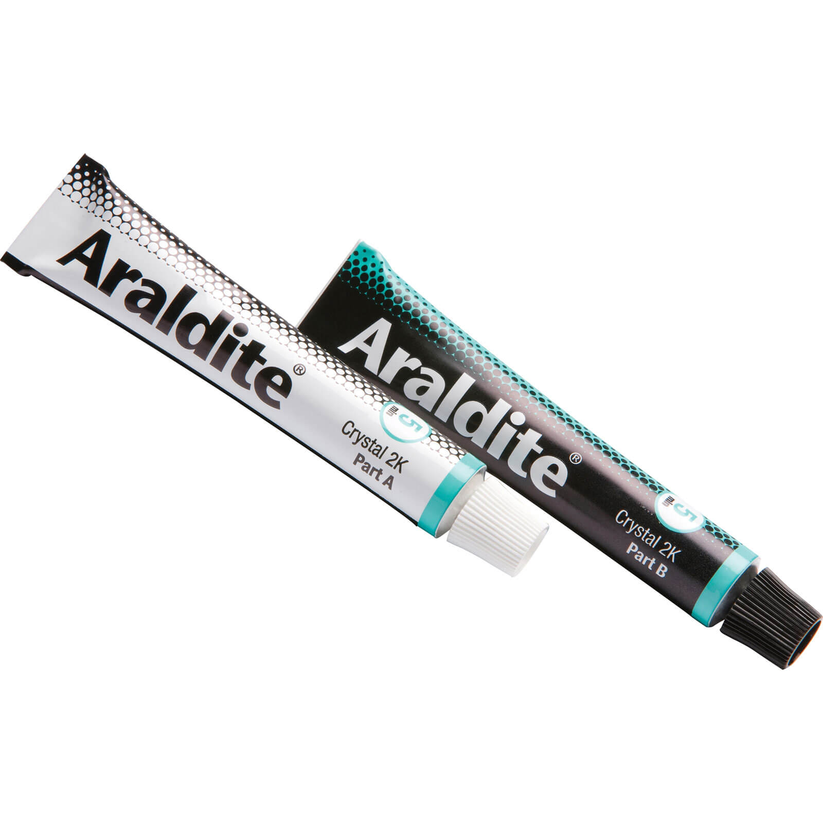 Araldite Crystal Two Component Adhesive 2 x 15ml Tubes
