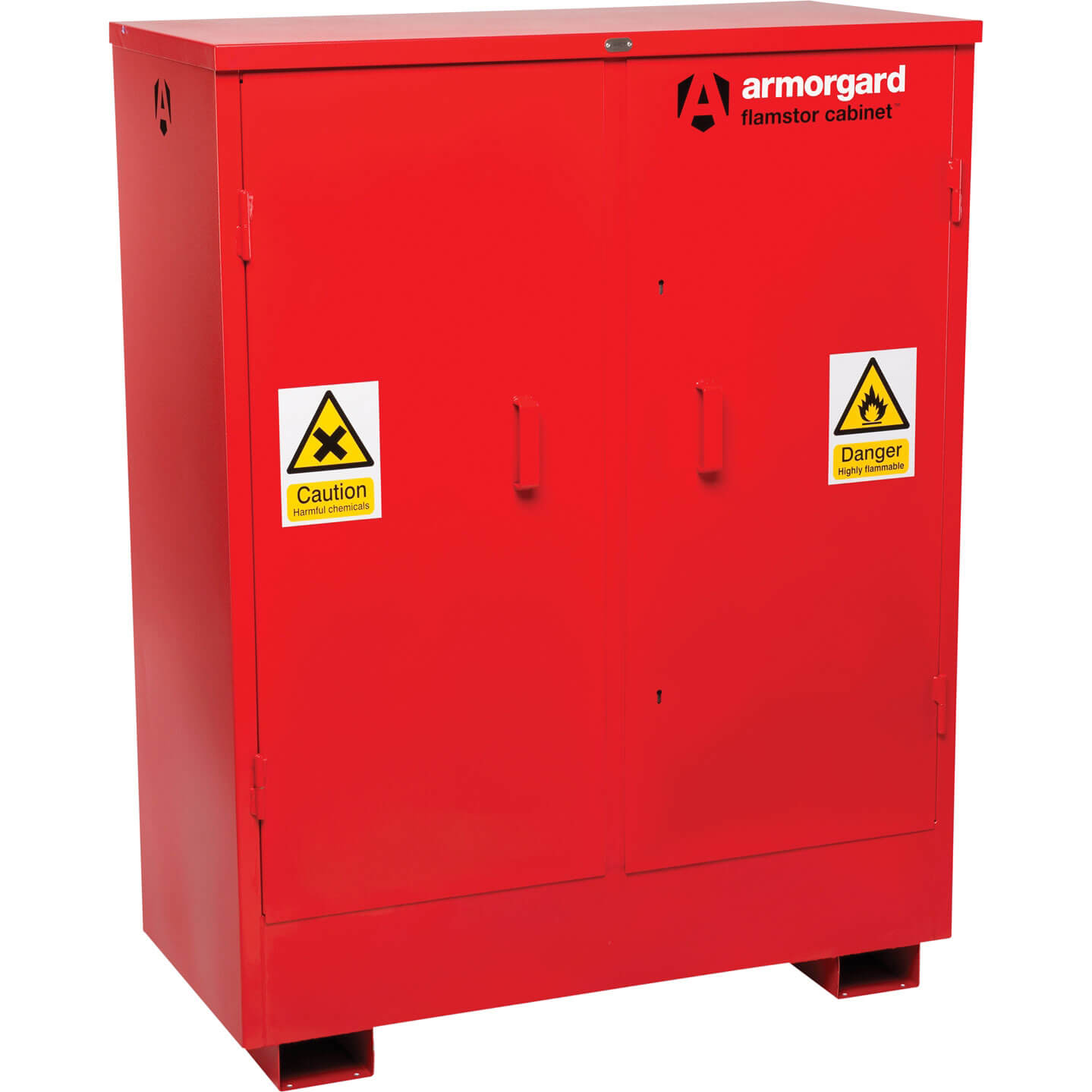 Armorgard Flamstor Chemical & Flammables Storage Cabinet 120cm x 55cm x 150cm