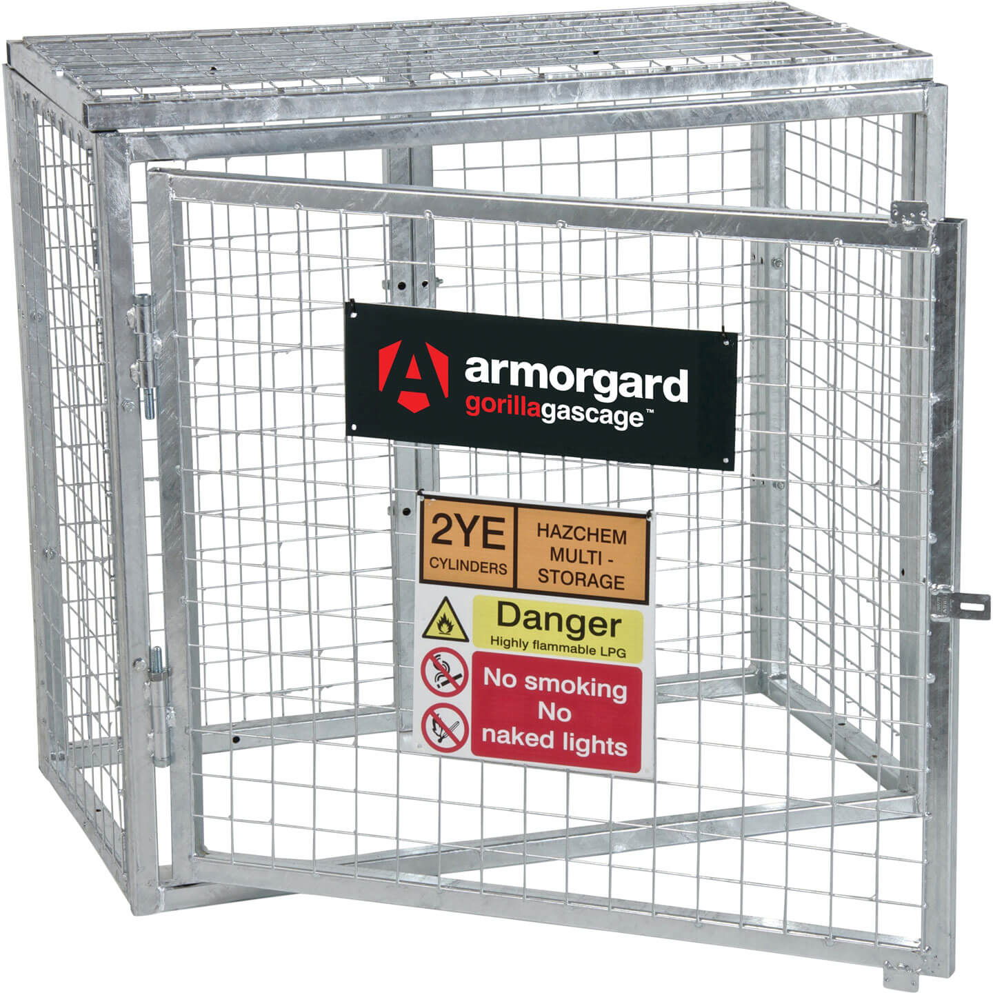 Armorgard Gorilla Bolt Together Gas Cylinder Cage 1000mm x 500mm x 900mm