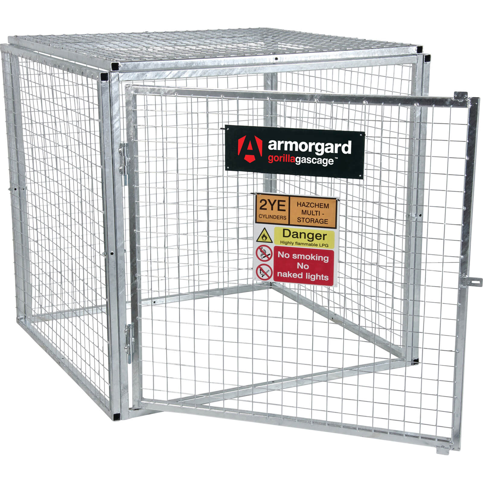 Armorgard Gorilla Bolt Together Gas Cylinder Cage 1200mm x 1200mm x 1200mm