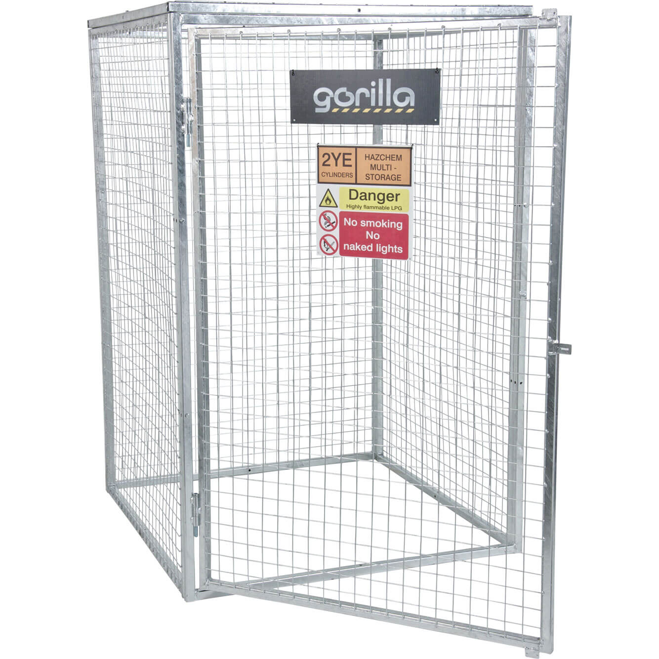 Armorgard Gorilla Bolt Together Gas Cylinder Cage 1200mm x 1200mm x 1800mm