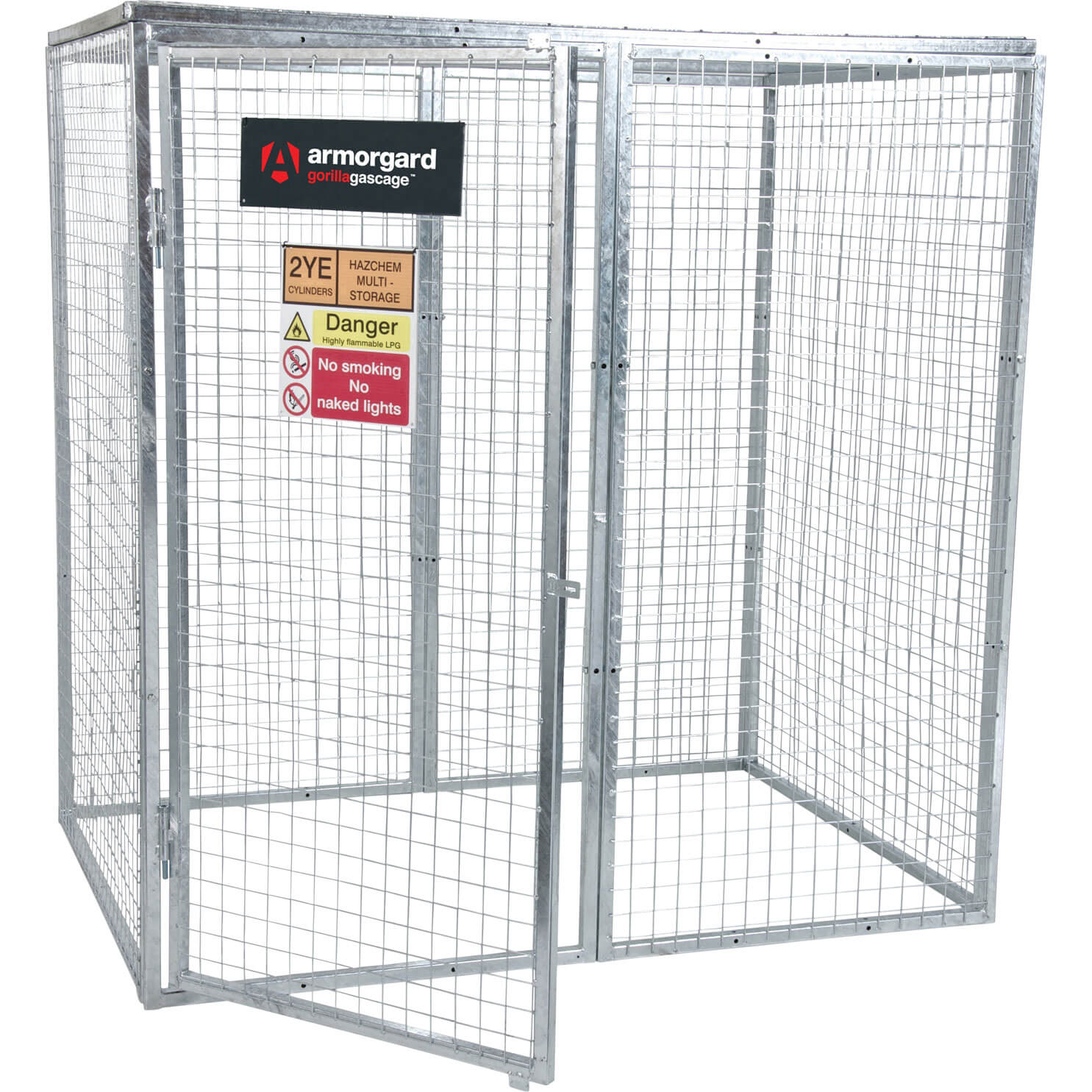Armorgard Gorilla Bolt Together Gas Cylinder Cage 1800mm x 1200mm x 1800mm