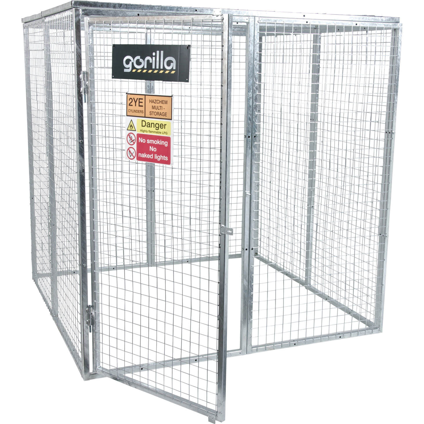 Armorgard Gorilla Bolt Together Gas Cylinder Cage 1800mm x 1800mm x 1800mm