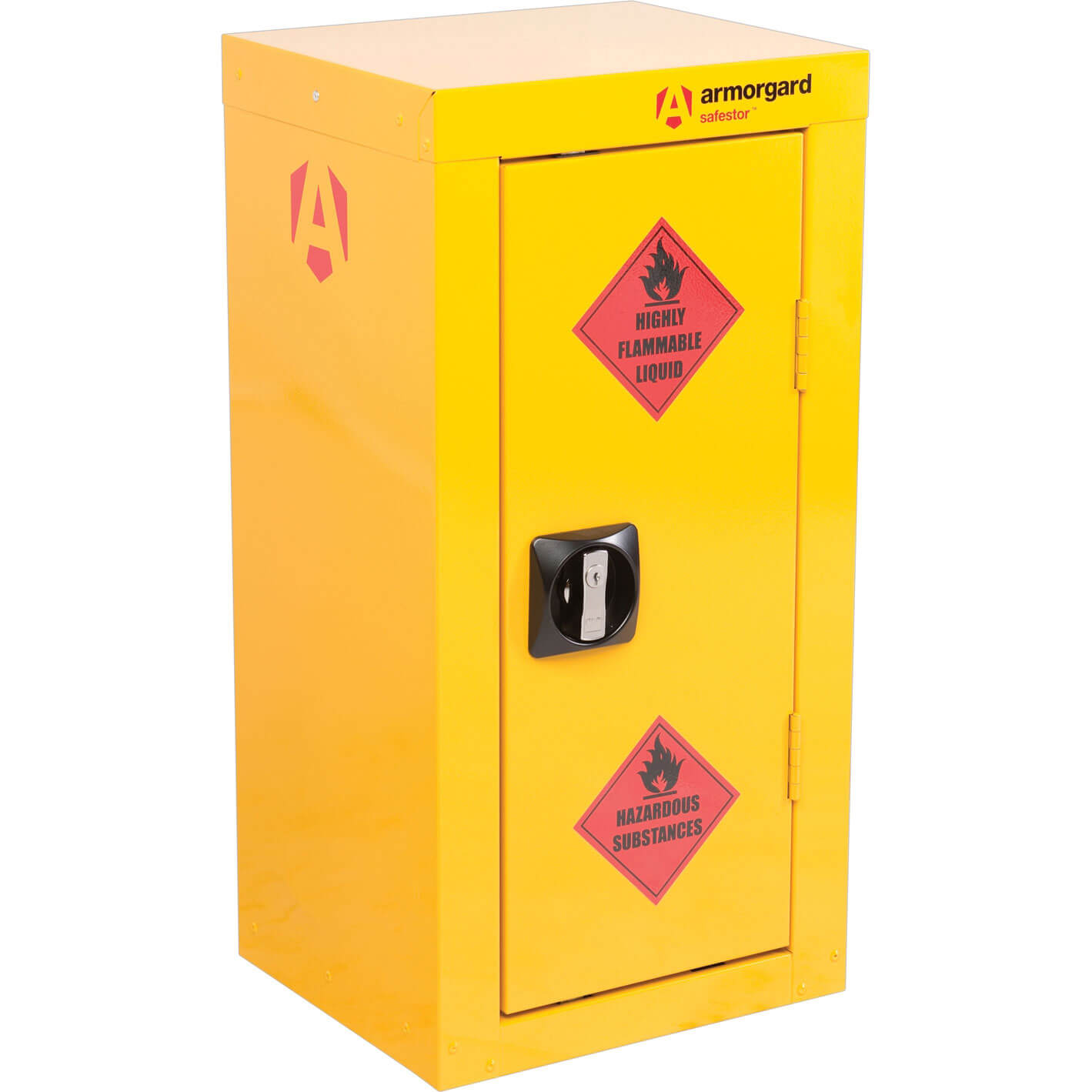 Armorgard Safestor Hazardous Materials Cabinet 350mm x 300mm x 700mm