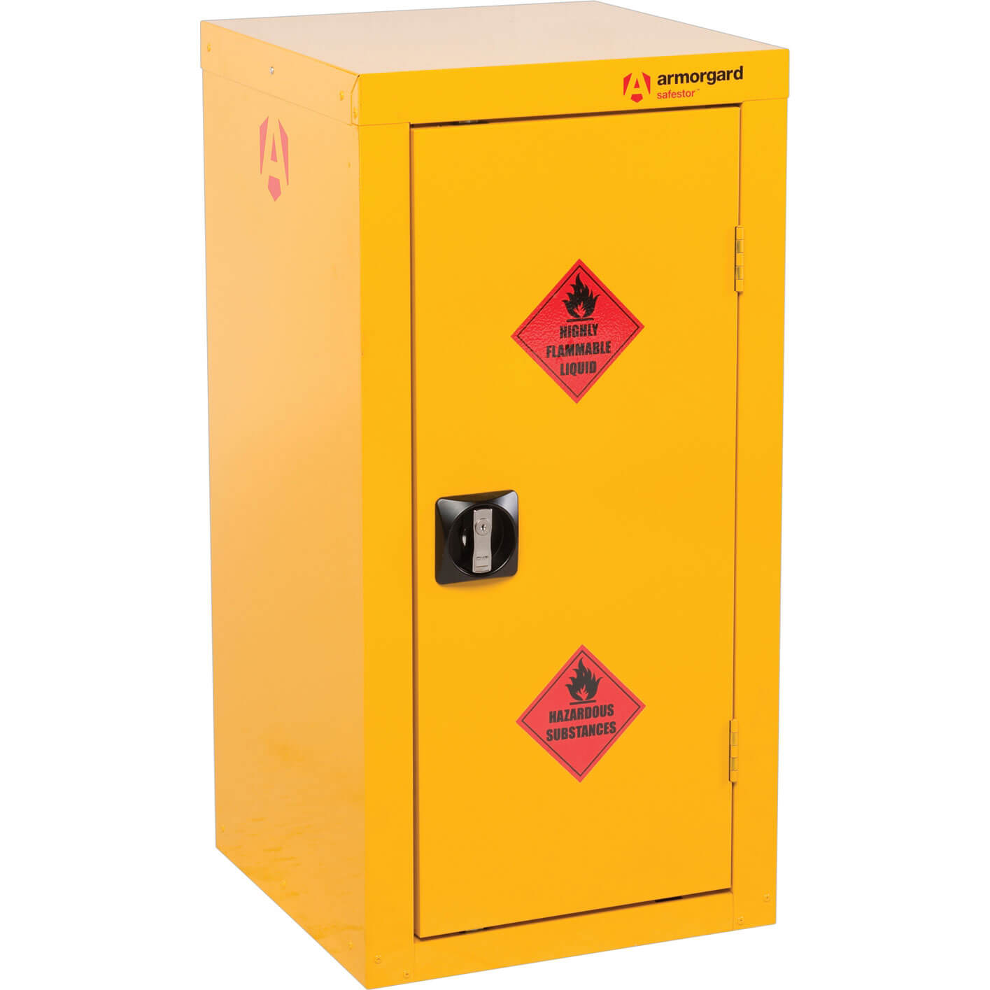 Armorgard Safestor Hazardous Materials Cabinet 460mm x 460mm x 900mm