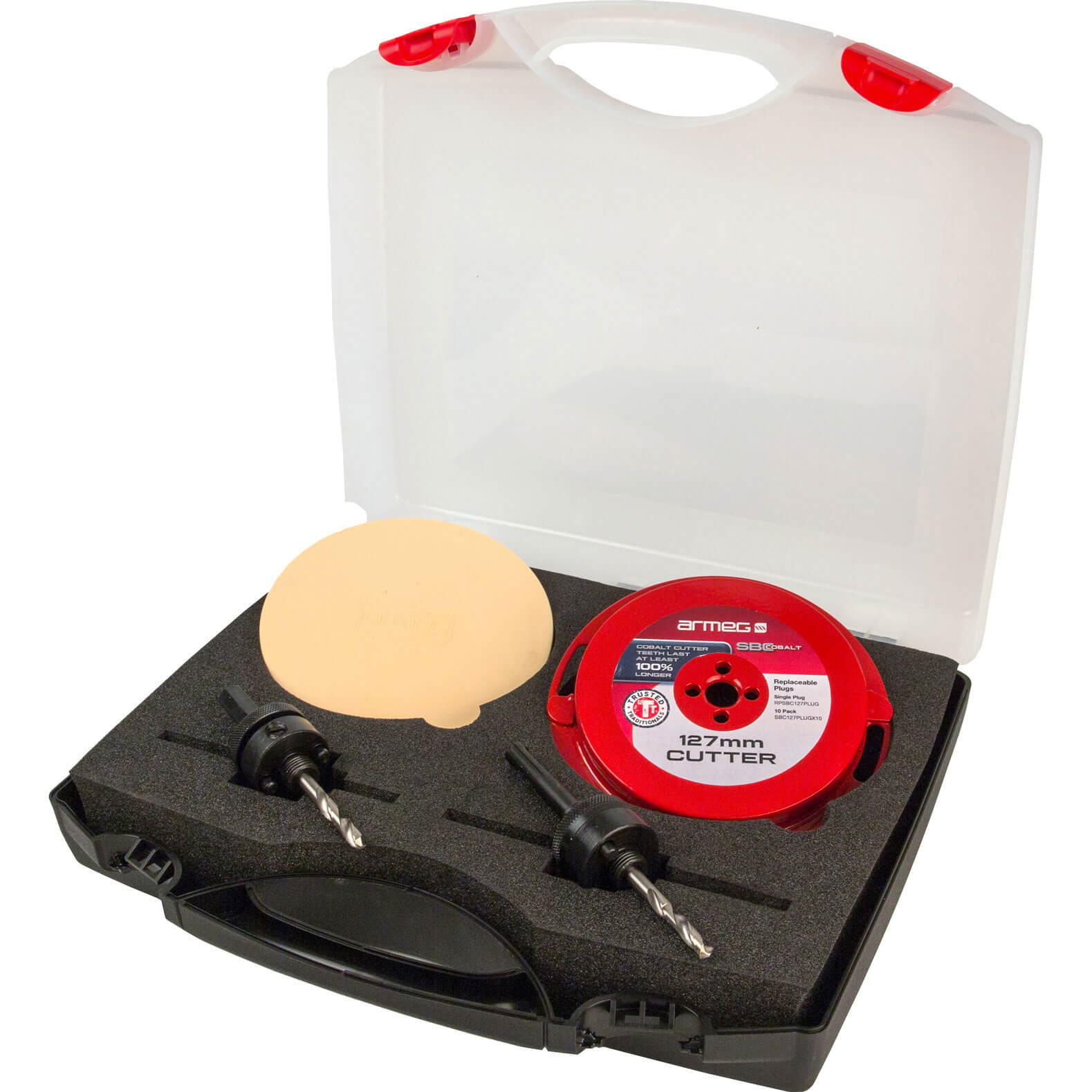 Armeg 127mm Complete Solid Board Cutter Set