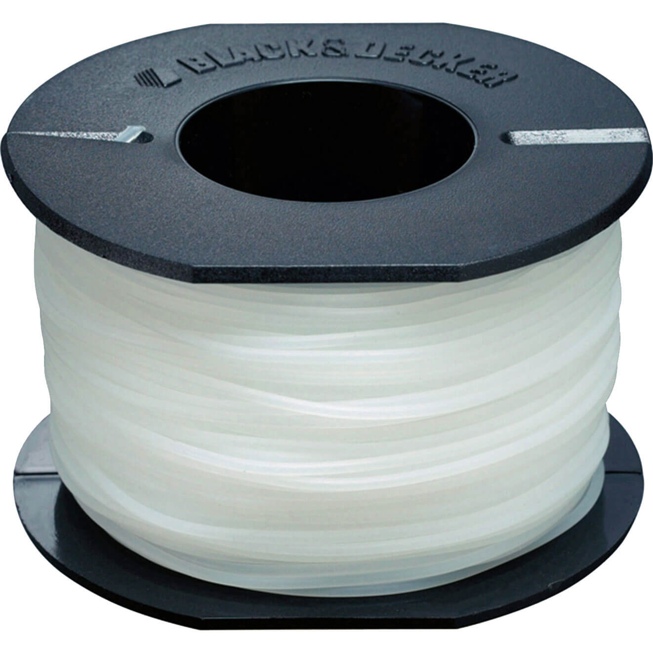 Black & Decker A6171 Replacement 1.5mm x 40 Metre White Reflex Line for Grass Trimmers