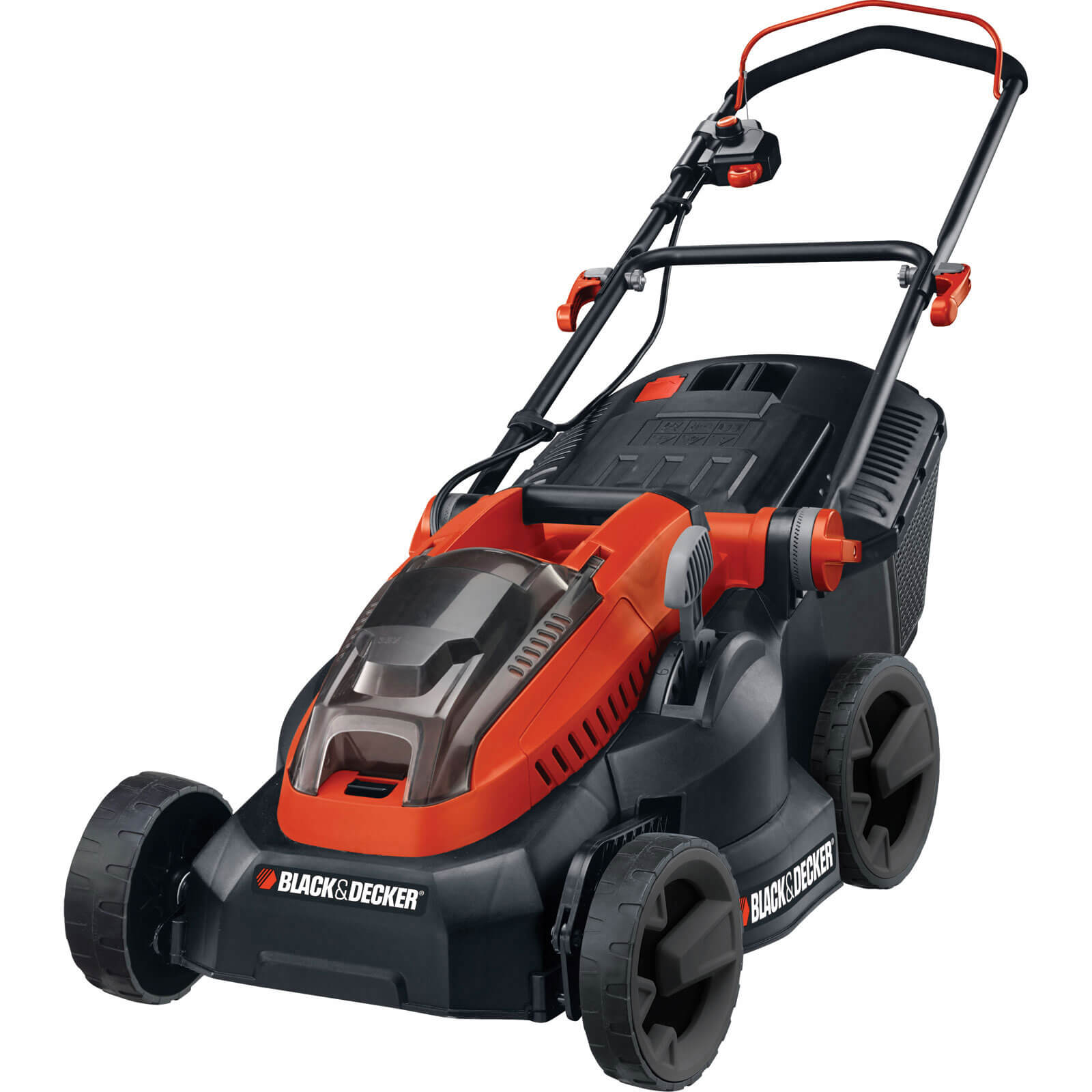 Black & Decker CLM3820L2 36v Cordless Lawn Mower 380mm Cut Width with 2 Lithium Ion Batteries 2ah