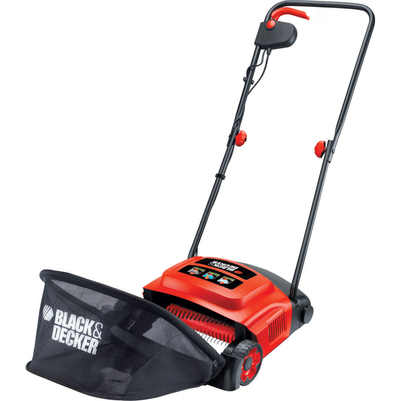 Black & Decker GD300 Electric Lawn Raker 300mm Rake 600w 240v