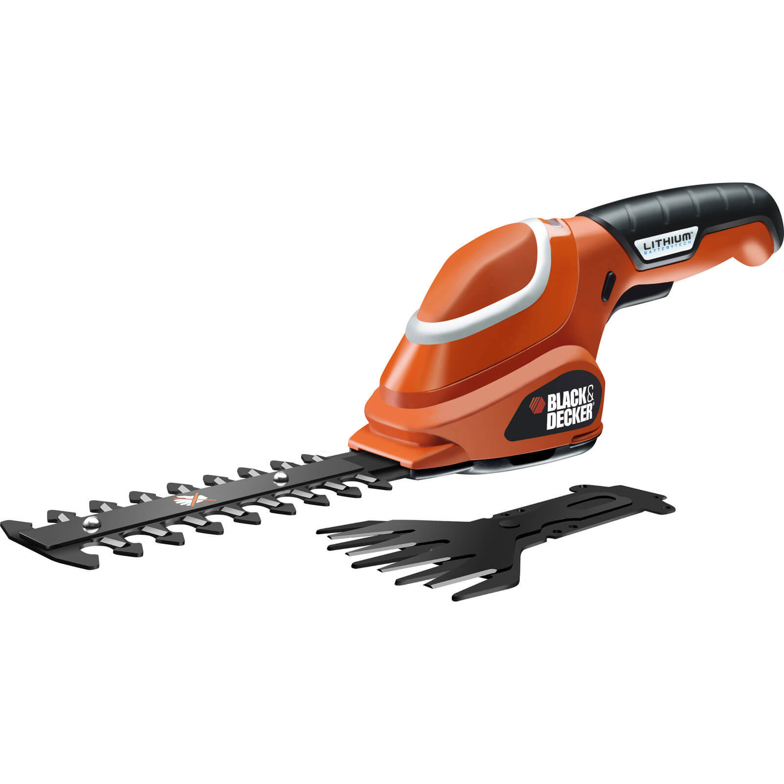 Black & Decker GSL 700 7v Cordless Shear Shrubber with Internal Lithium Ion Battery 1.2Ah