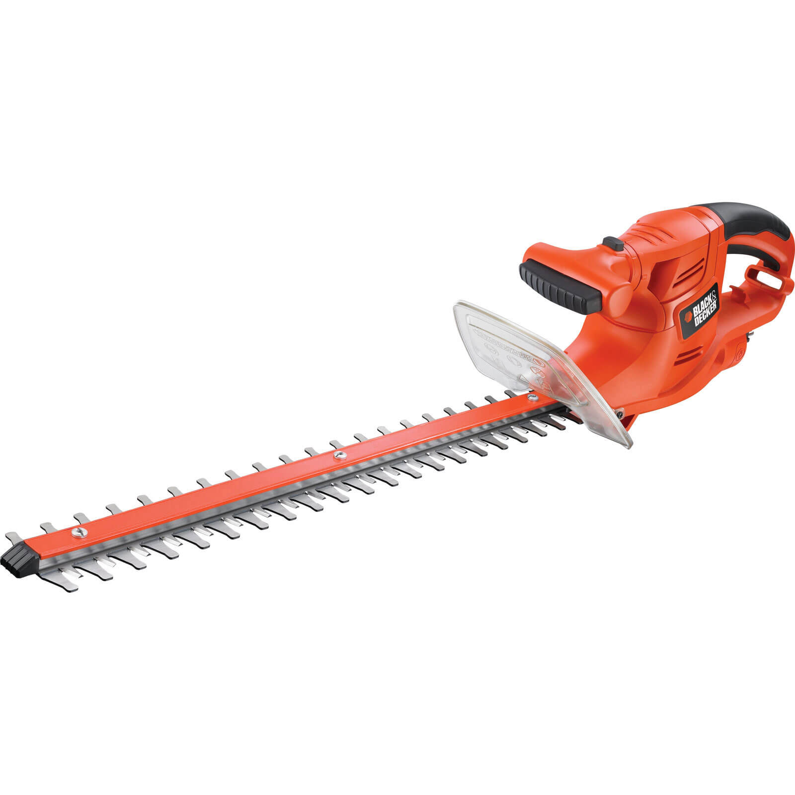 Black & Decker GT4550 Hedge Trimmer 500mm Blade Length 450w 240v Plus FREE Safety Glasses Worth £7.95