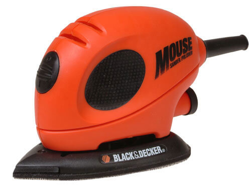 Black & Decker KA161BC Mouse Sander with Sanding Sheets 55w 240v