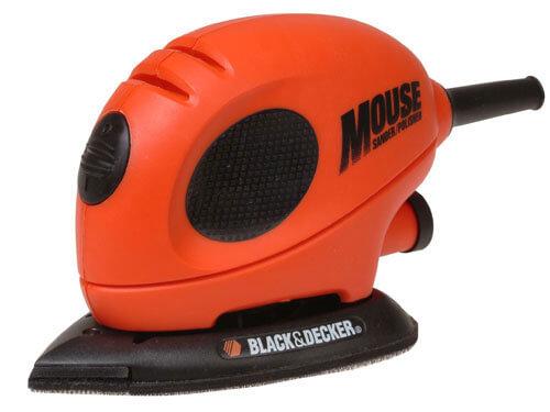 Black & Decker KA161BC Mouse Sander + Sanding Sheets 55w 240v