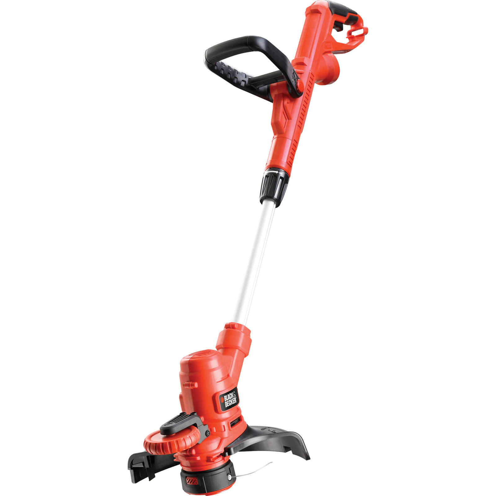 Black & Decker ST5530 Telescopic Grass & Edge Trimmer 300mm Cut Width 550w 240v Compatible with 3 in 1 Mower Plus FREE Spare Spool & Line Worth £5.95