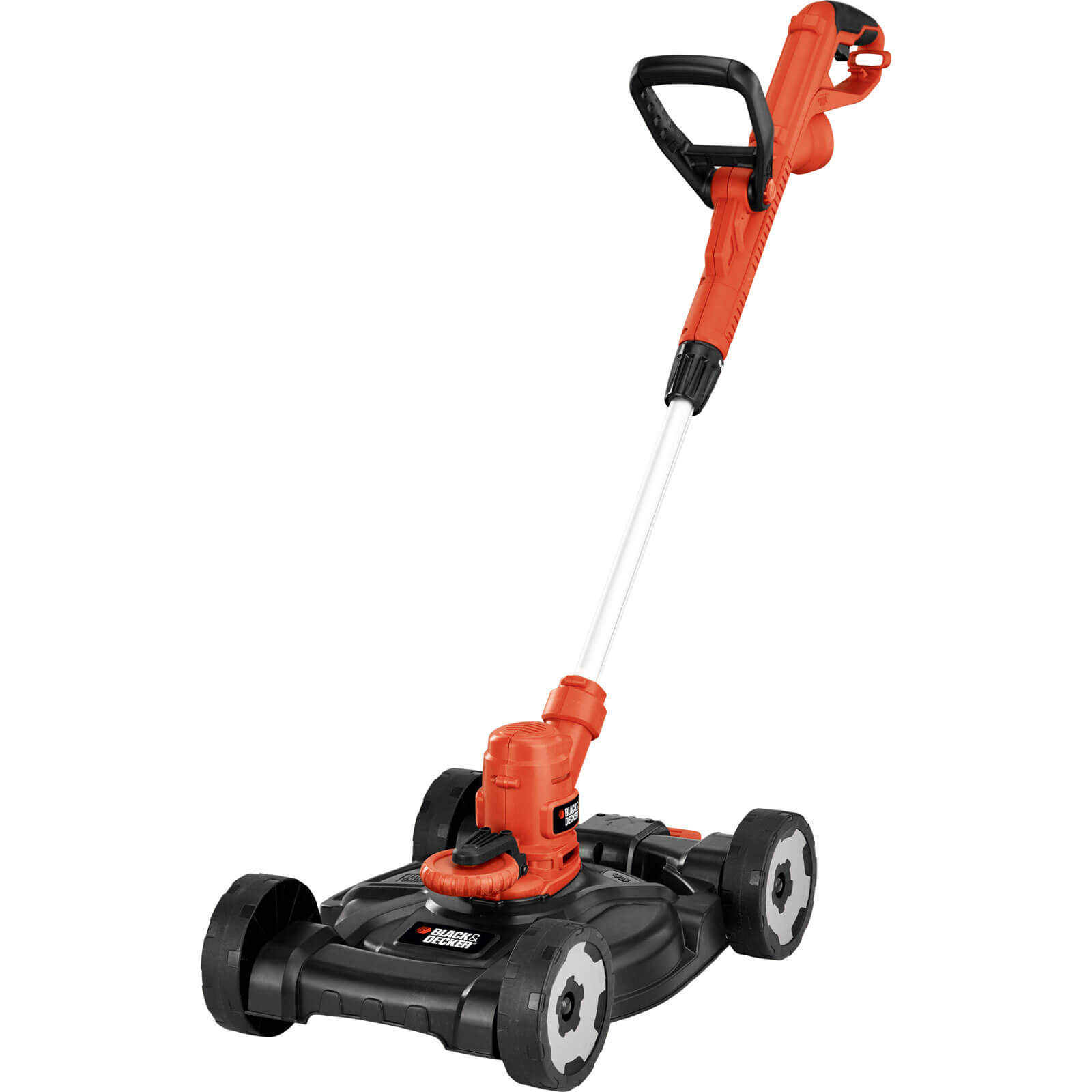 Black & Decker ST5530CM 3 in 1 Edger, Grass Trimmer & Lawn Mower 300mm Cut Width 550w 240v free Spare Spool & Line Worth £5.95
