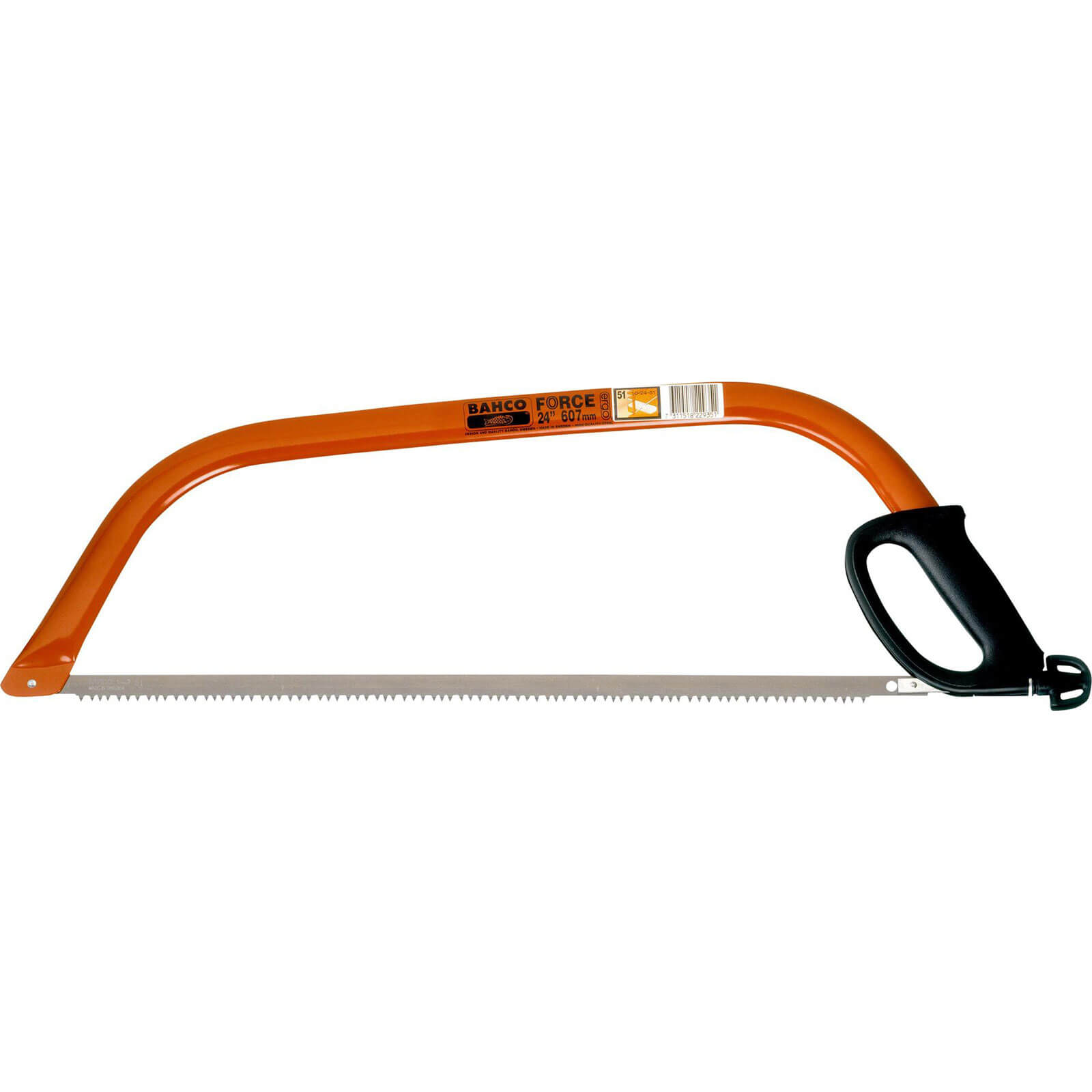 Bahco Heavy Duty Bow Saw 24&quot / 604mm 51 Tooth All Purpose