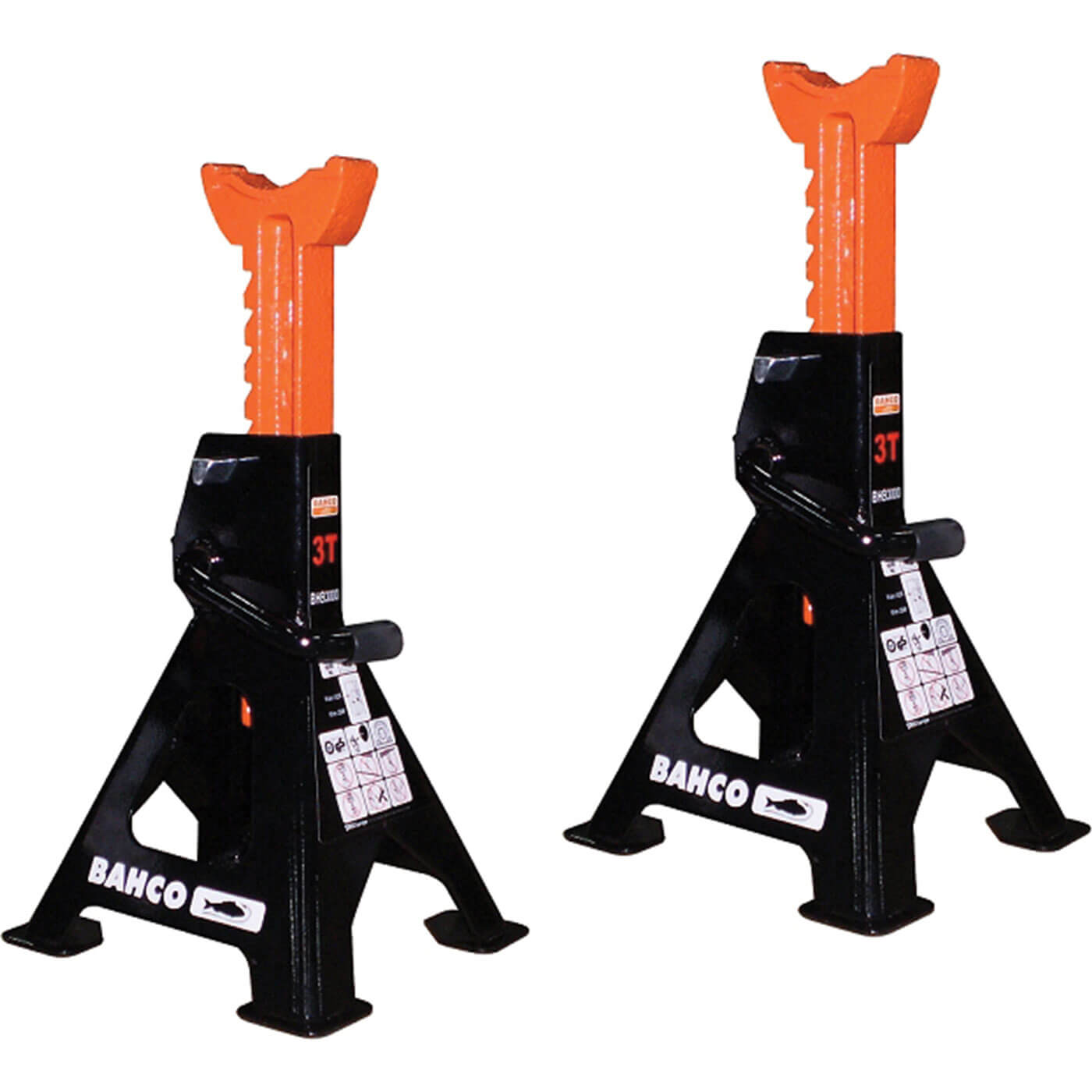 Bahco 1.5t Axle Stands 3t per Pair