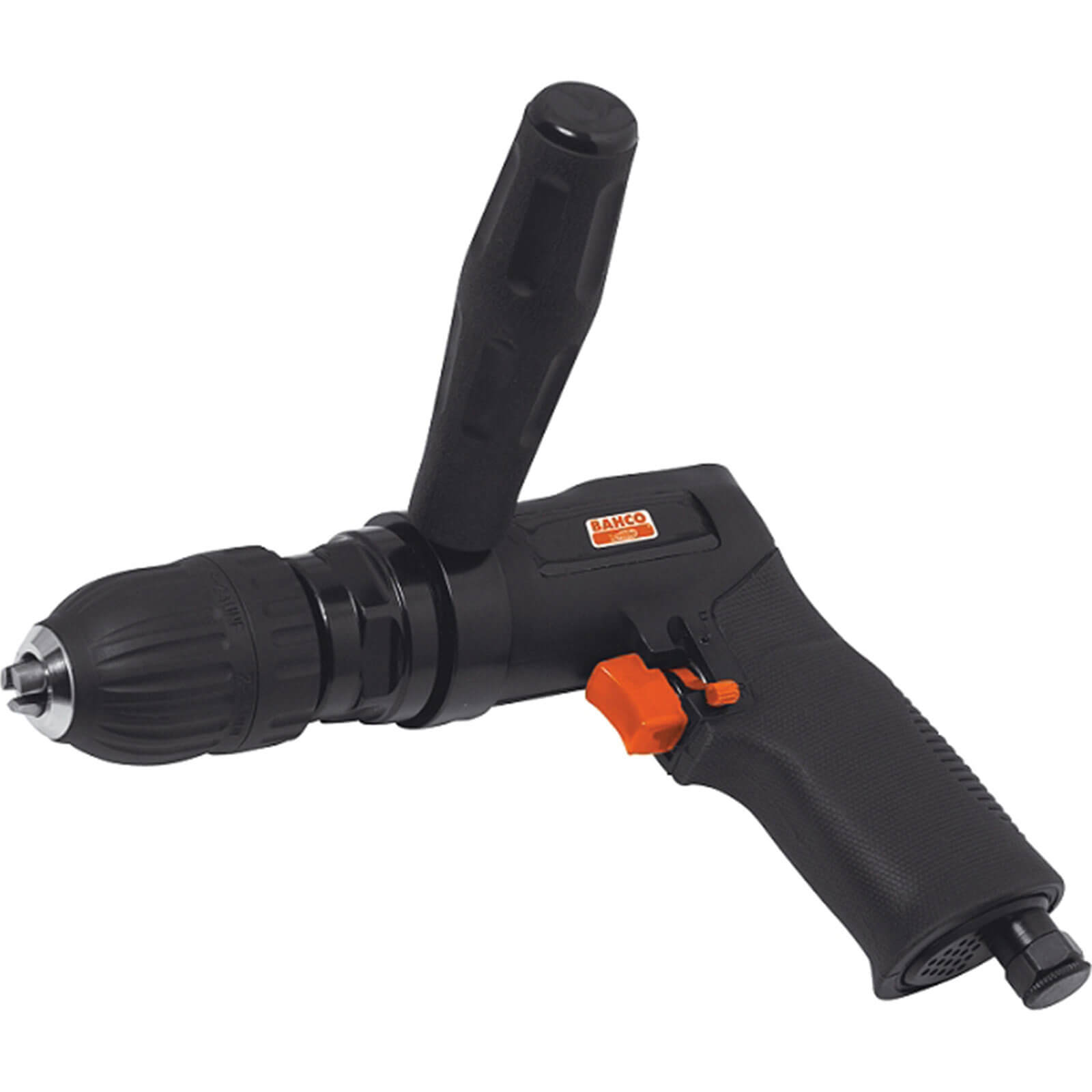 Bahco BP825 Reversible Air Drill with 13mm Quick Chuck 6.3cfm
